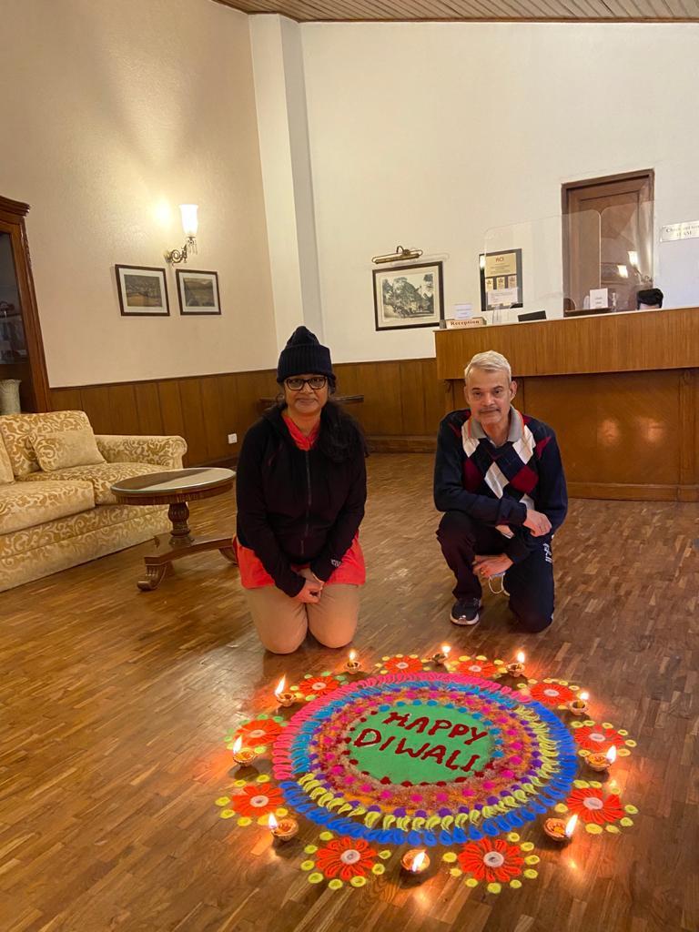 A Diwali Kolam