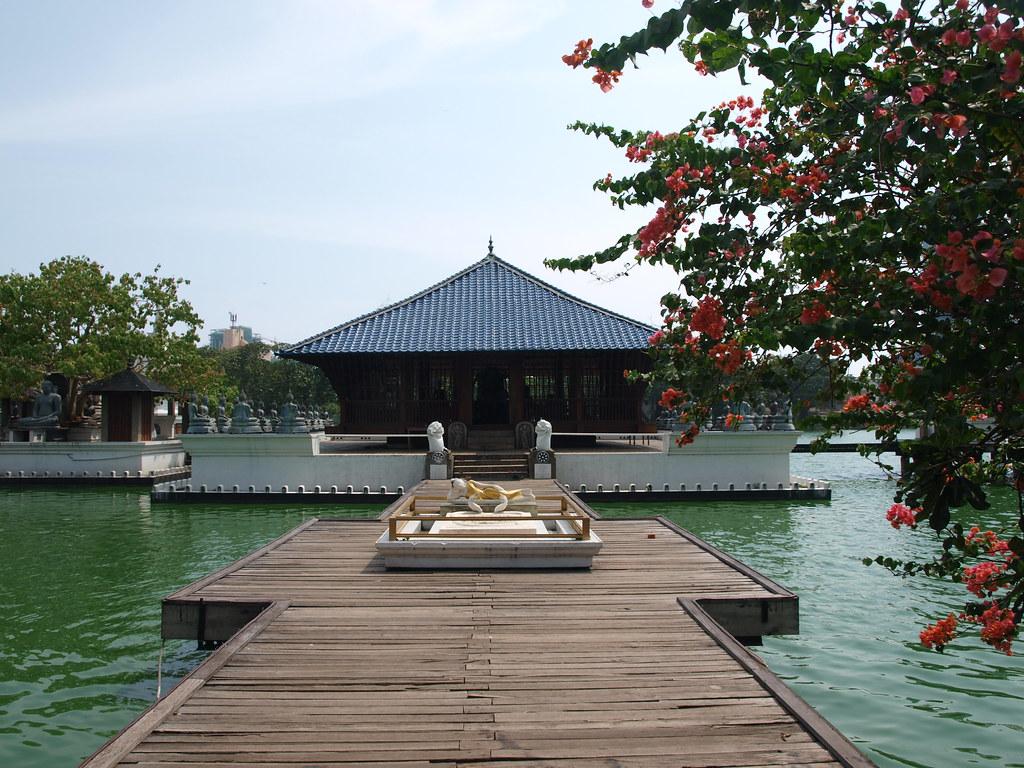 Ubicación del templo Gangaramaya