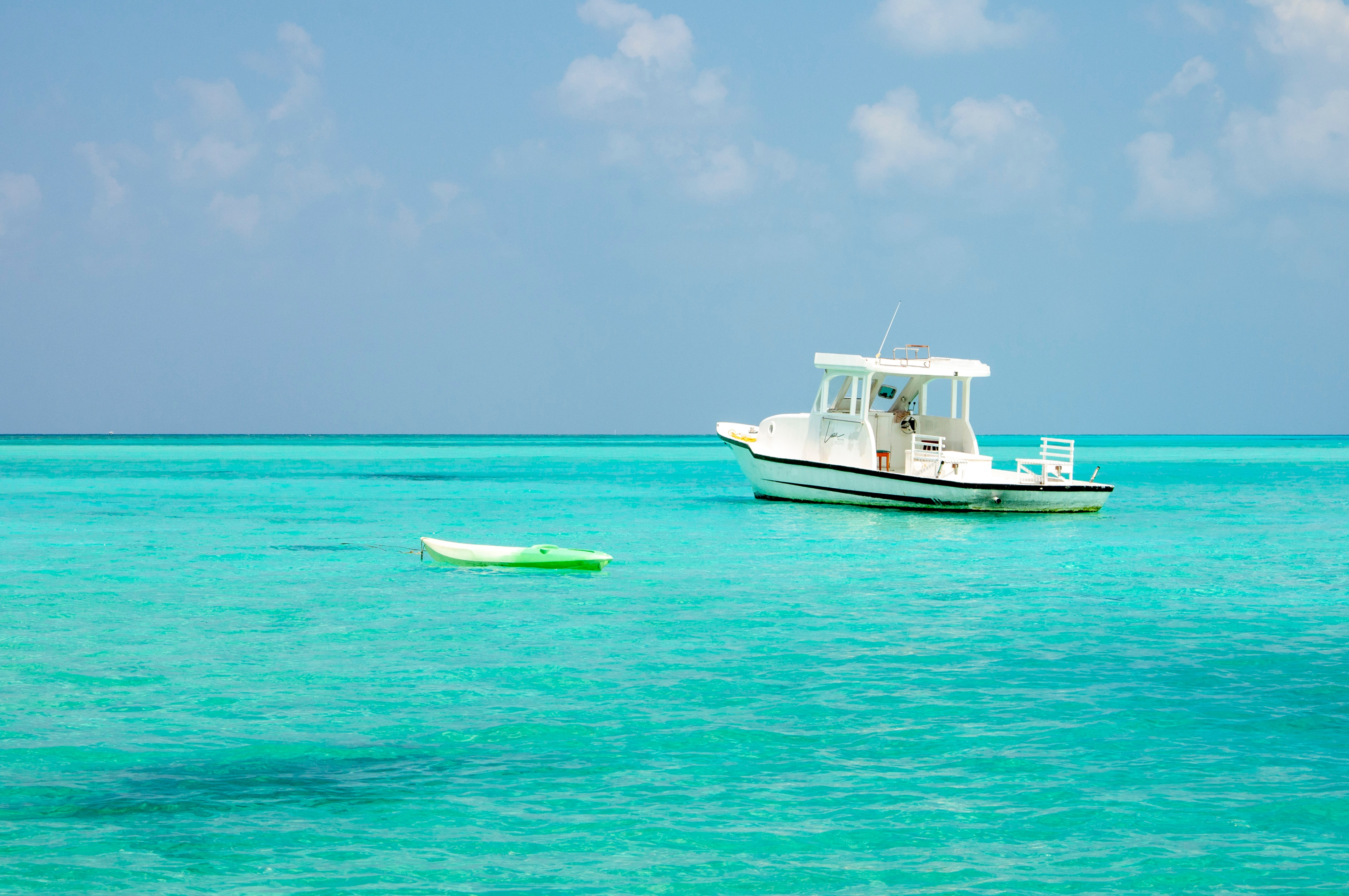 Speedboat to reach the Maldives