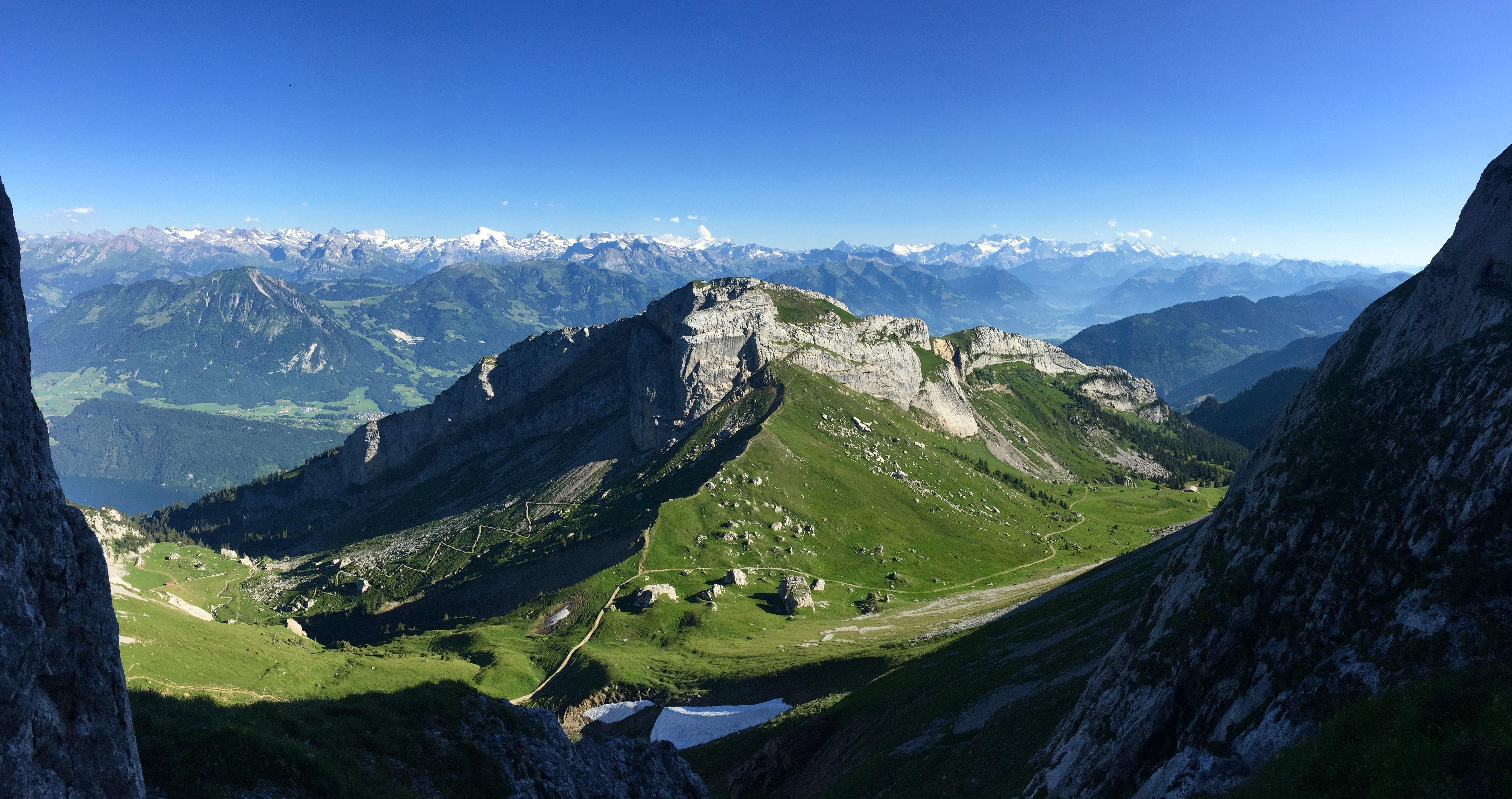 Mount Pilatus in Lucerne