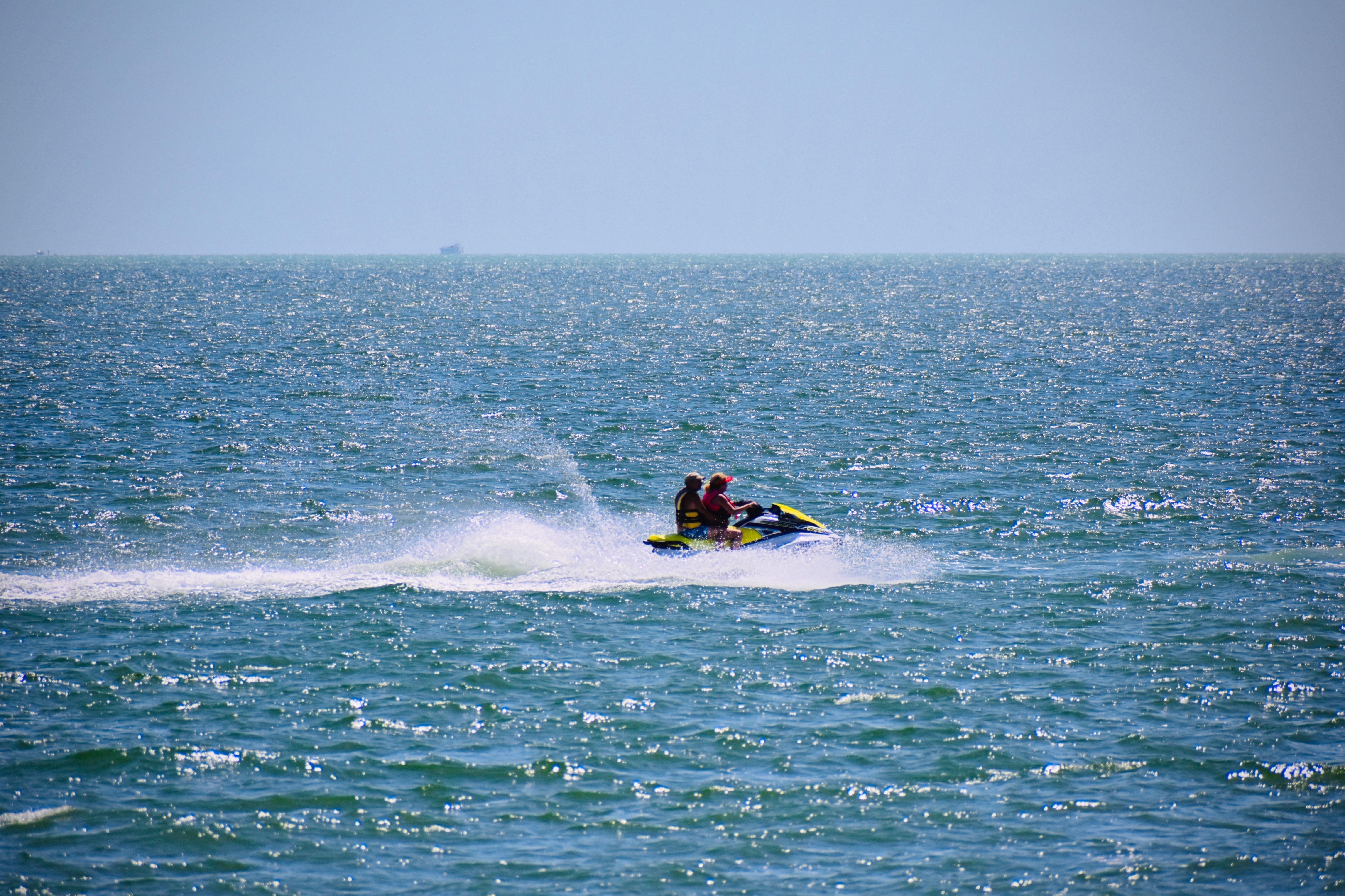 Jet Ski in the sea
