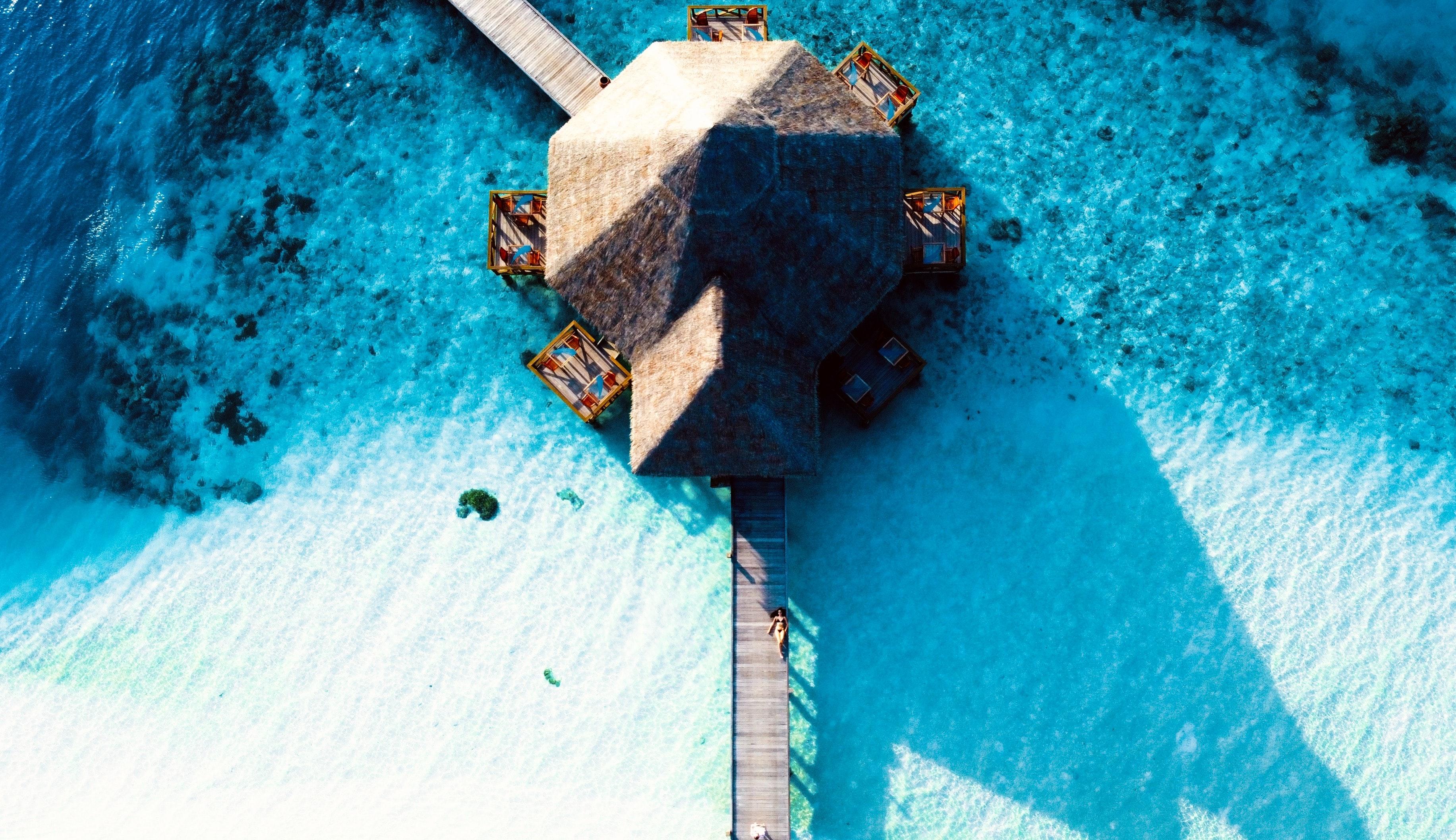 Sunset water pool villas