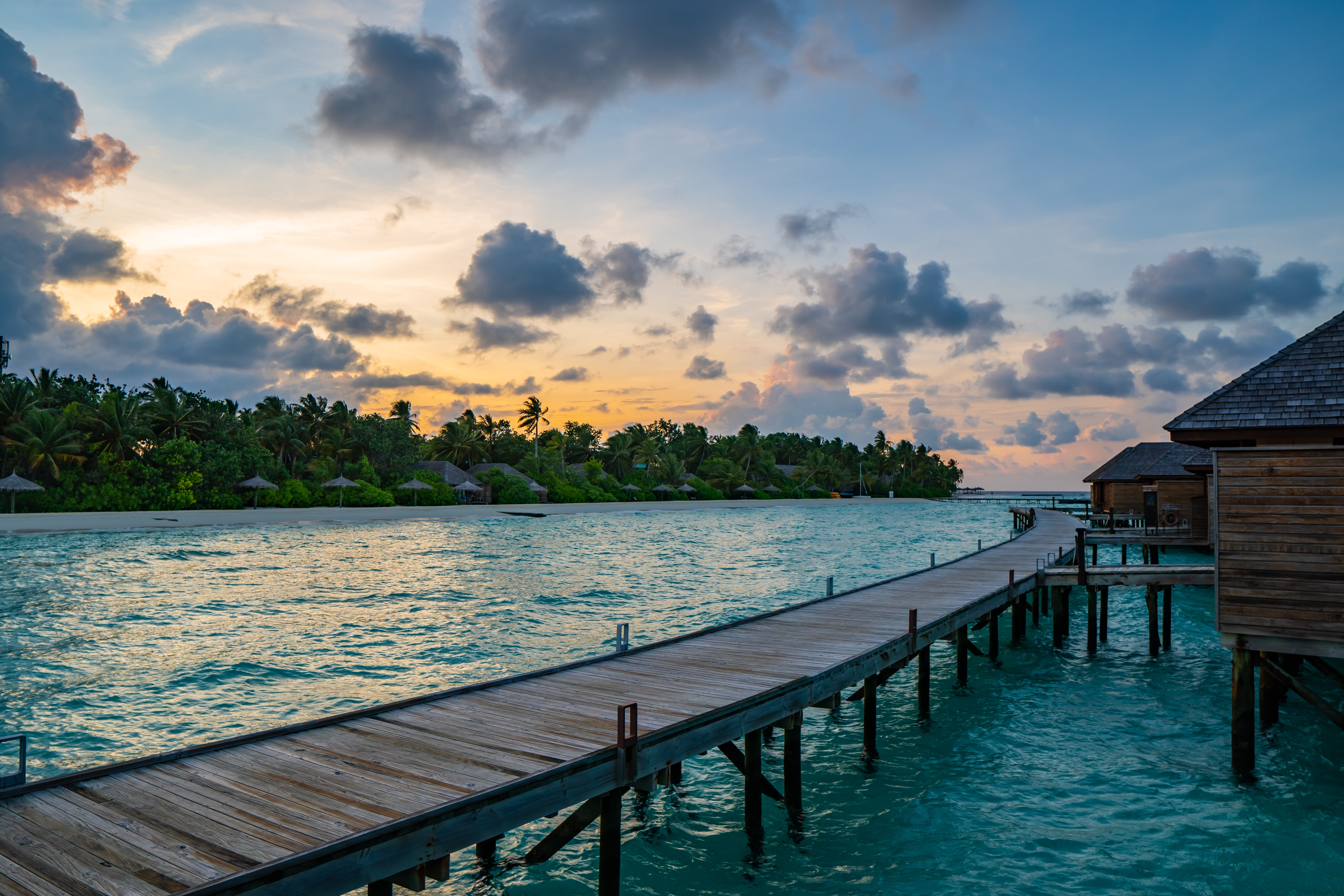 top 5 most affordable watervillas in Maldives