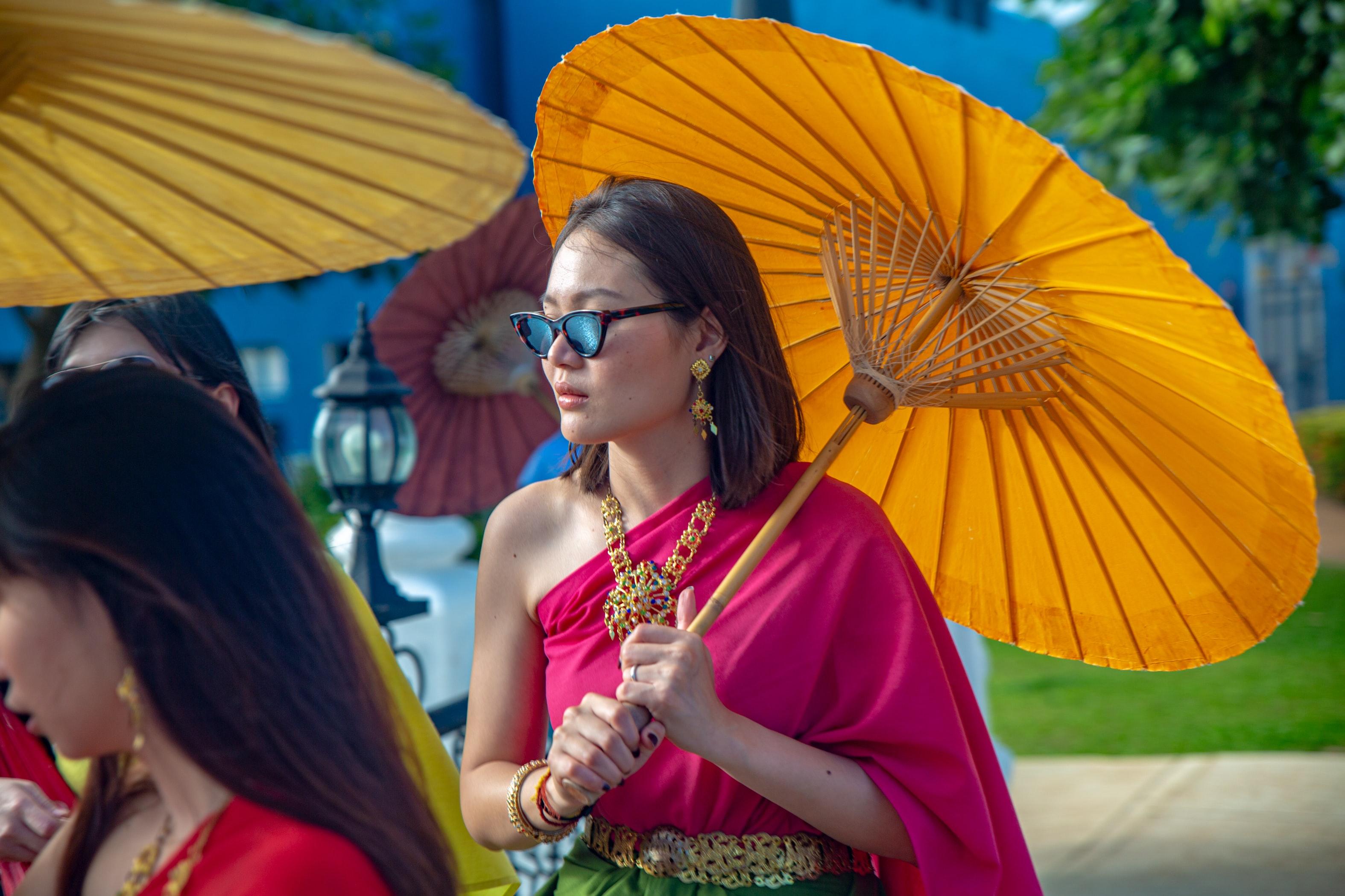 The Bo Sang Umbrella and Sankampaeng Handicrafts Festival