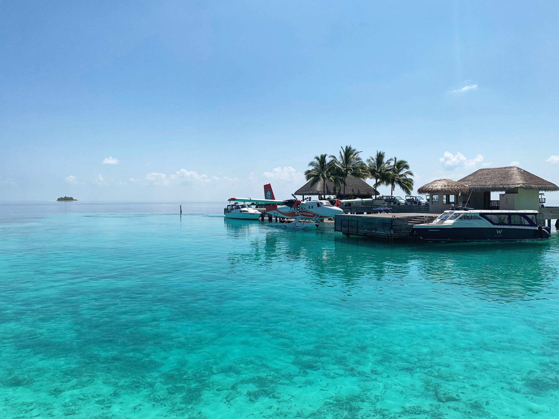 Sea plane experience in the Maldives