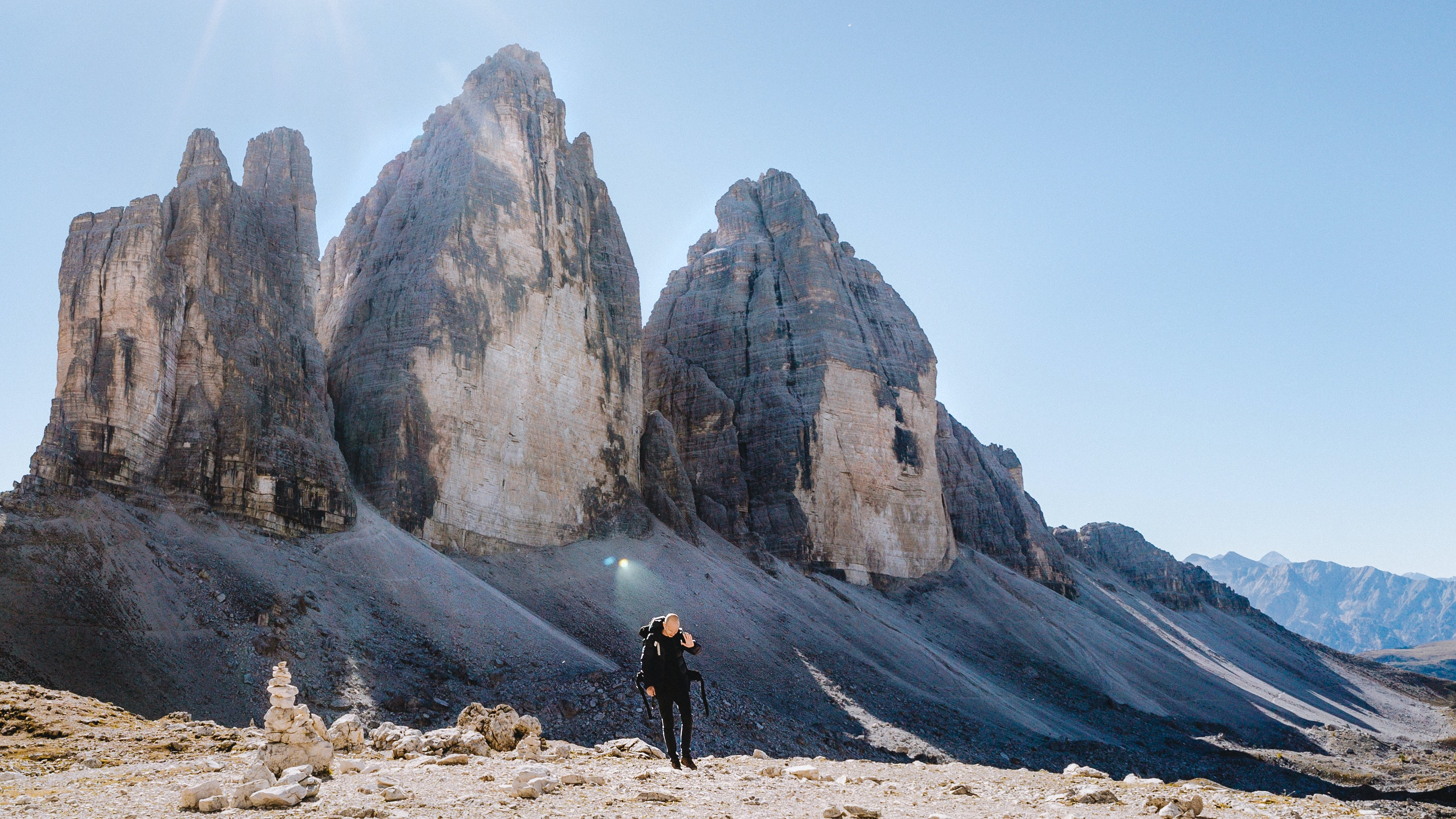 dolomites mountains in Italy