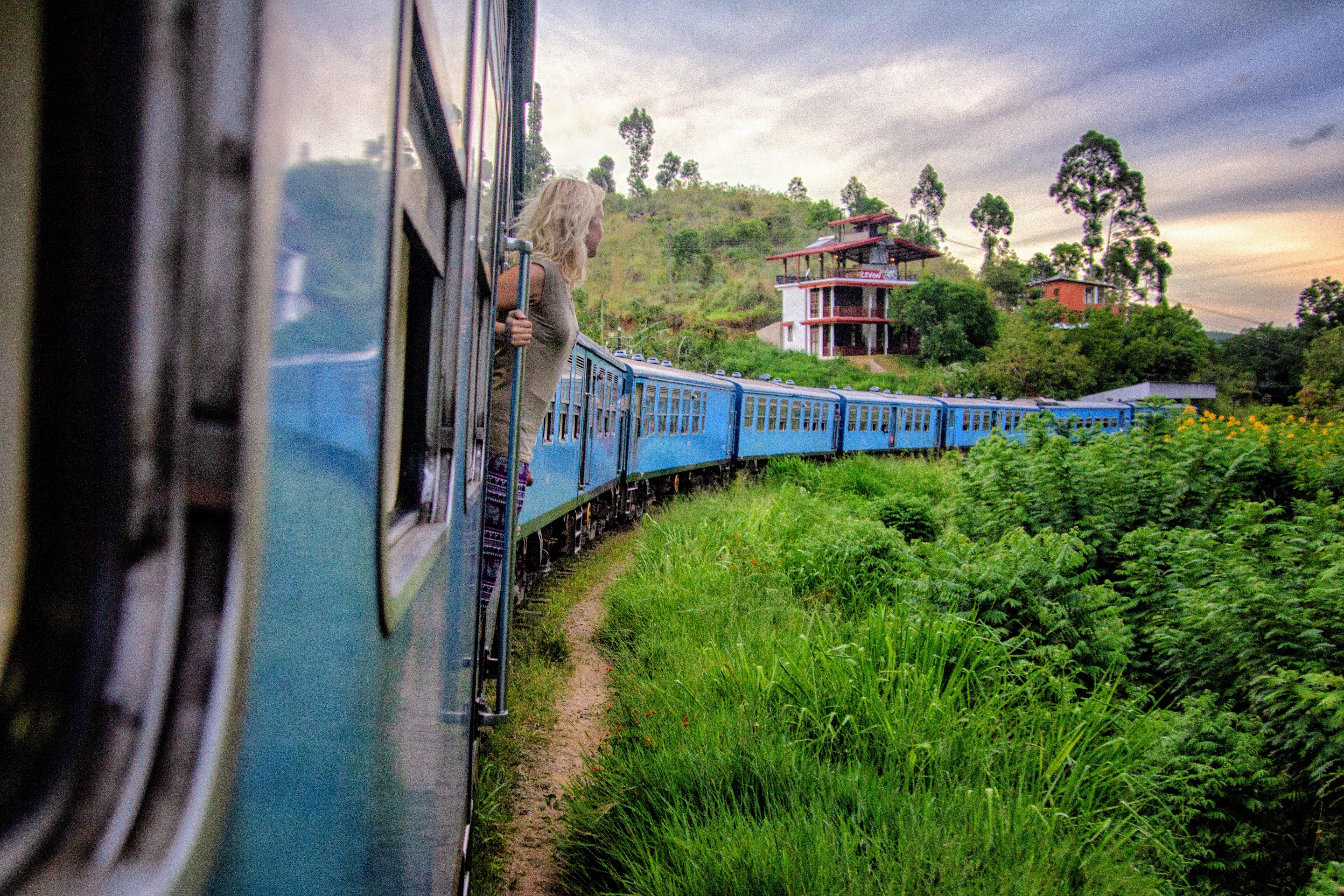 A train ride in Ella