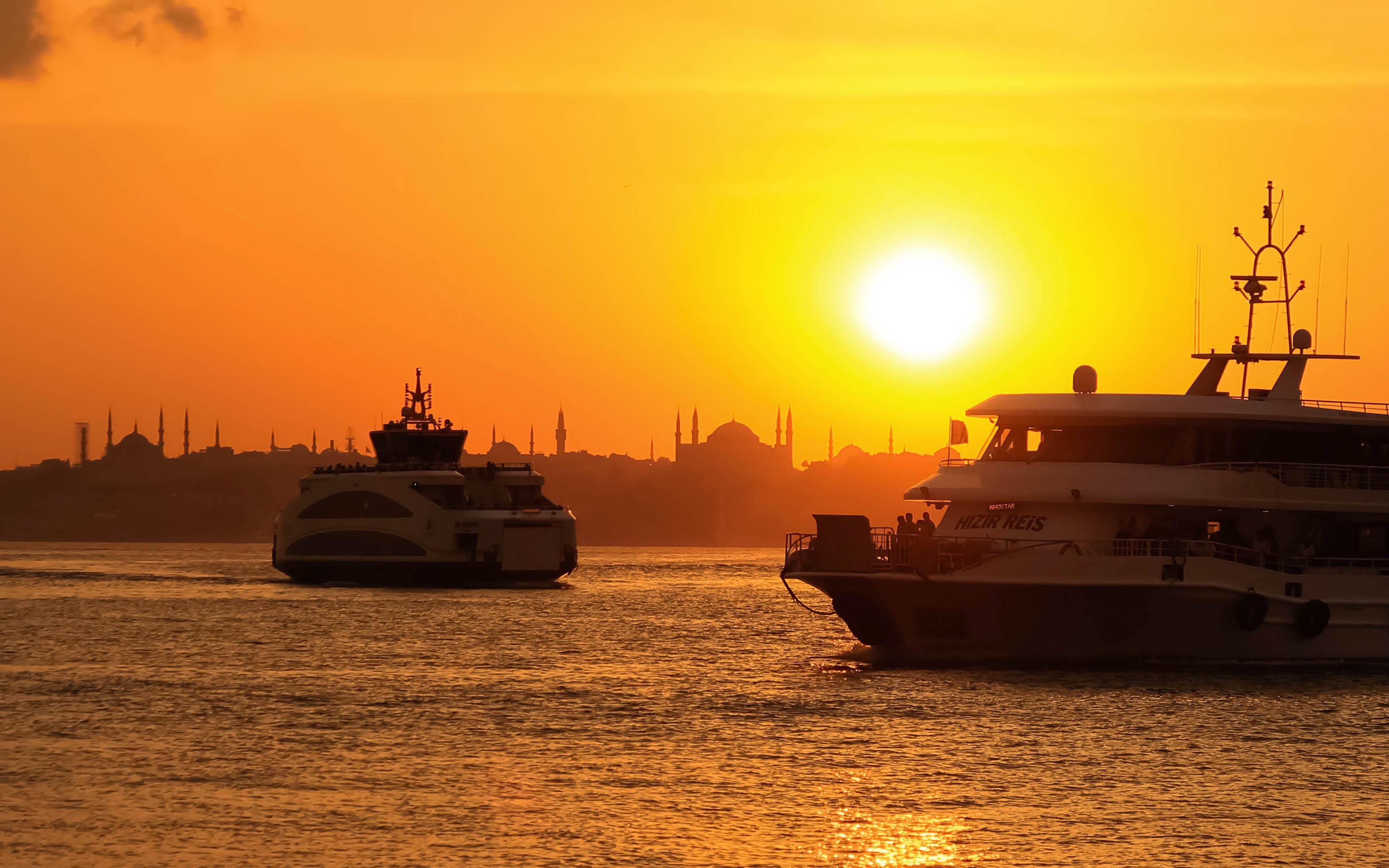 Sail the Bosphorus in Istanbul, Turkey, Romantic Things to do in Europe