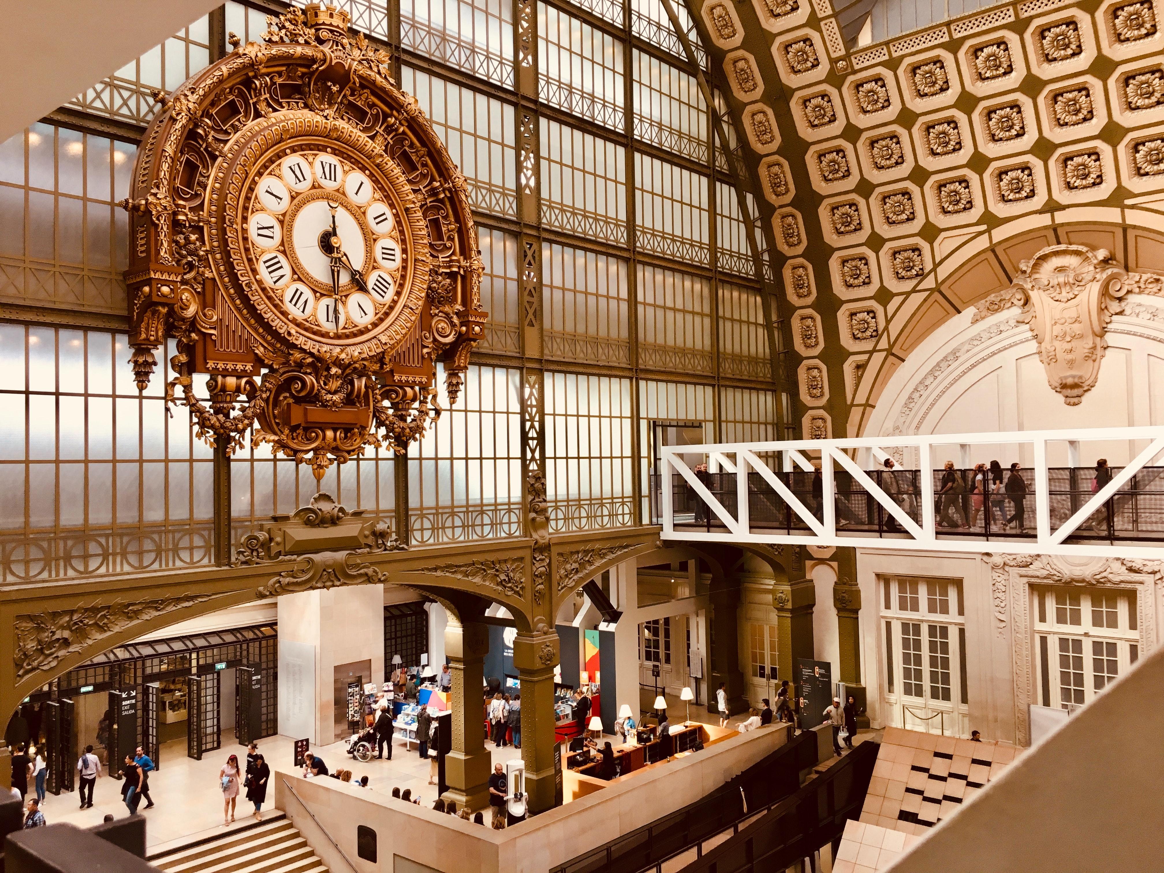 Museé d'Orsay, 15 romantic places to visit in Paris