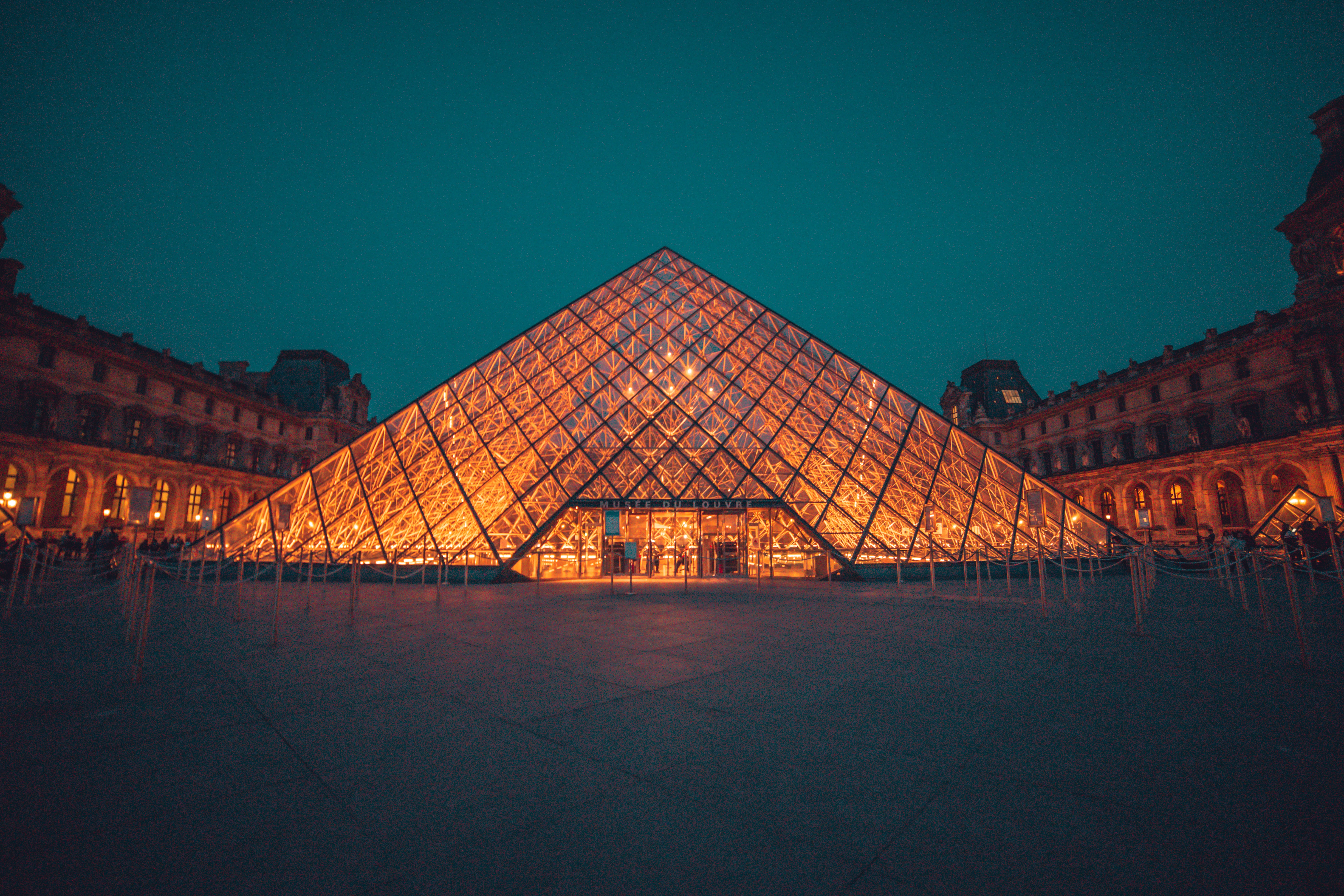 Louvre Museum, Paris, France, Things to do in Paris in Winter