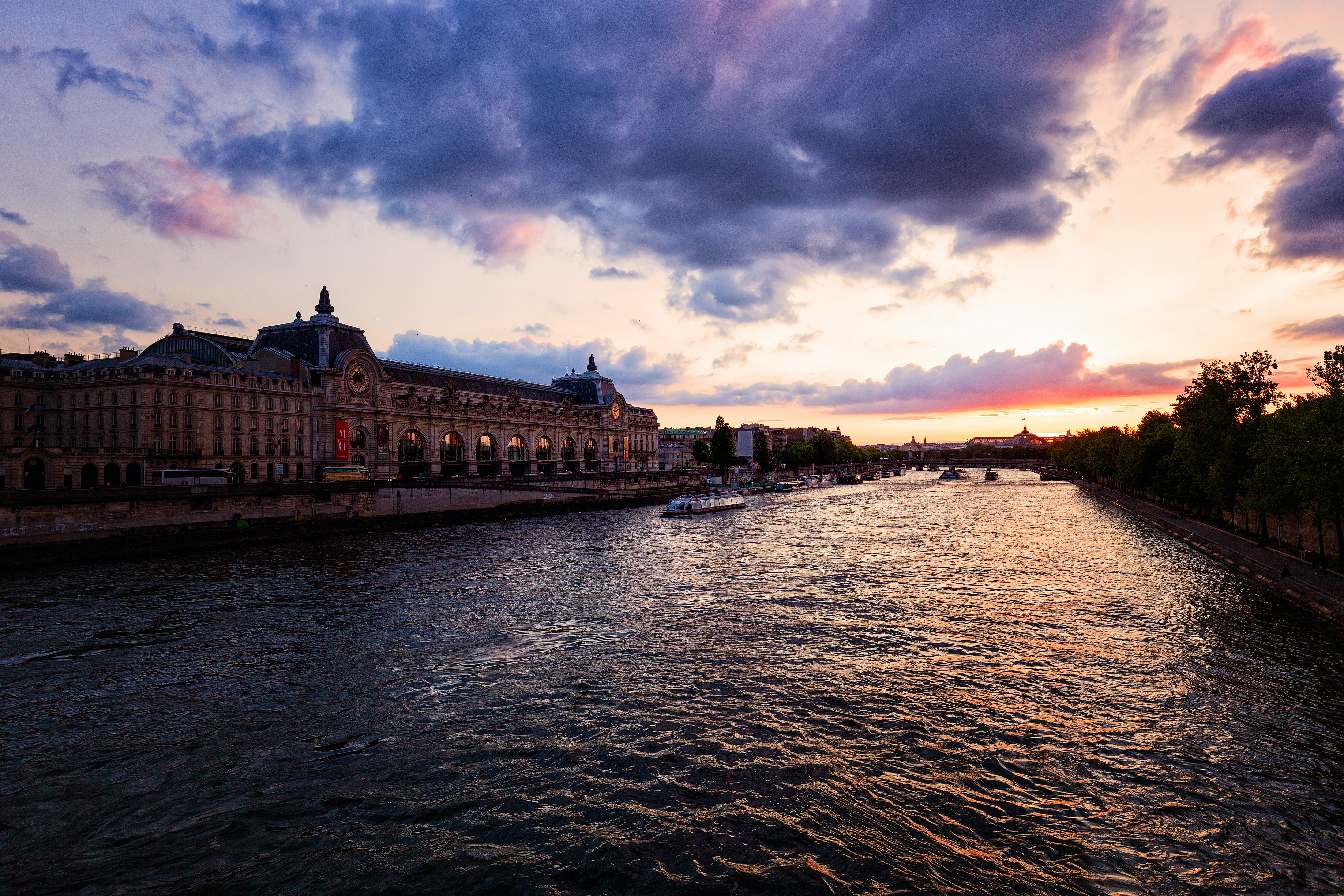 Cruise on Seine River, Paris, France, Romantic Things to do in Europe