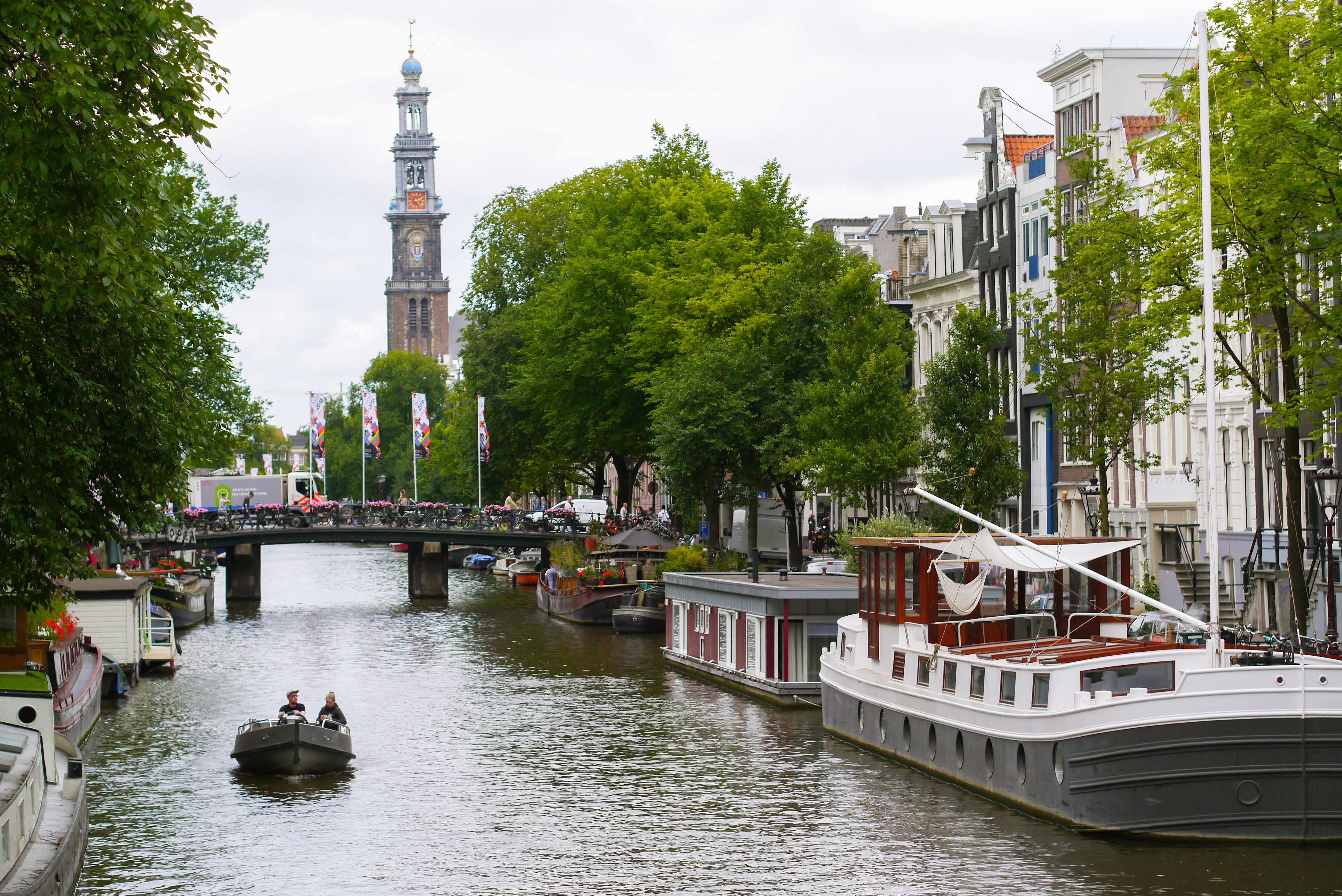 Glide through the Canals of Amsterdam in Netherlands, Romantic Things o do in Europe