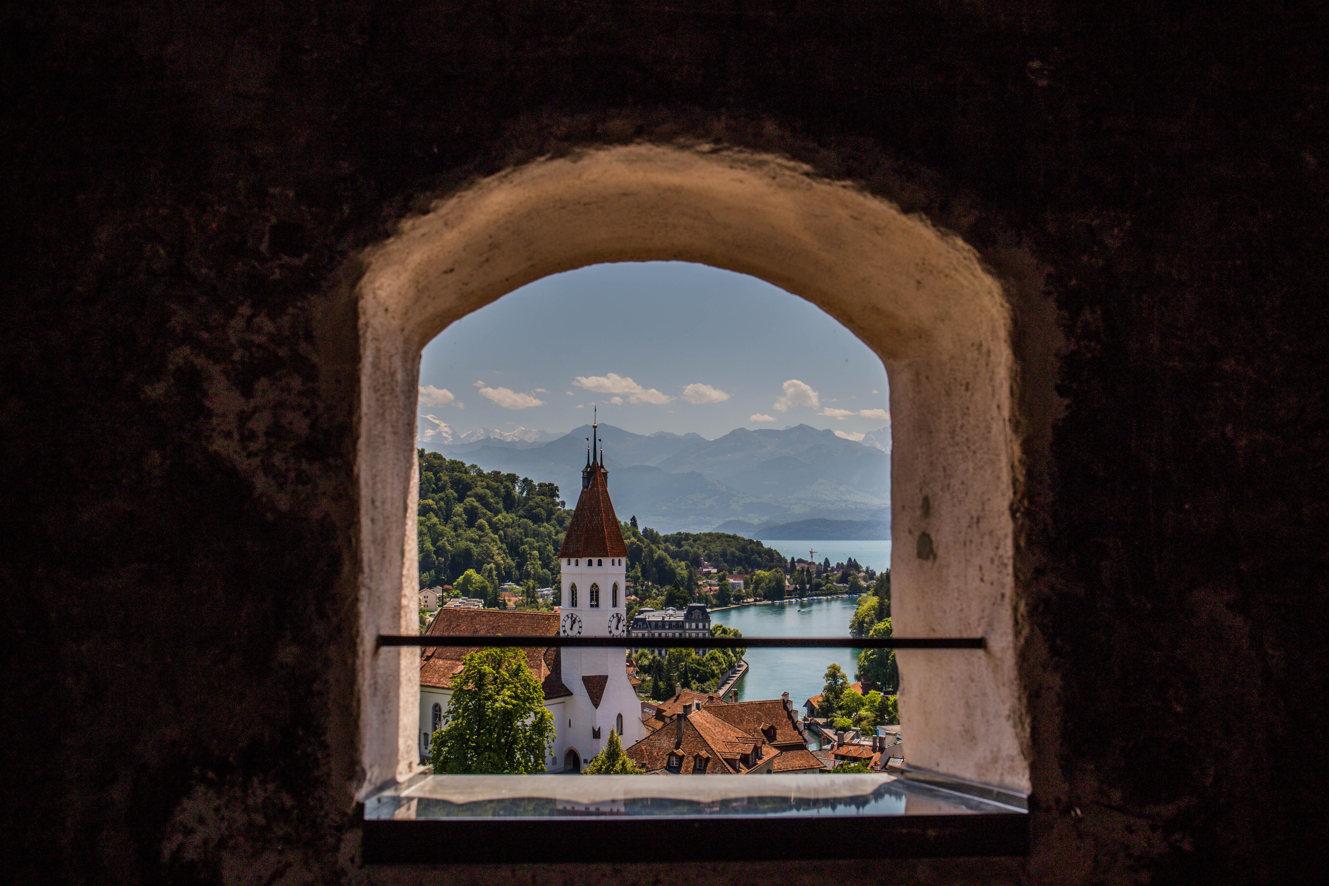 Thun castle, most beautiful castles in Switzerland