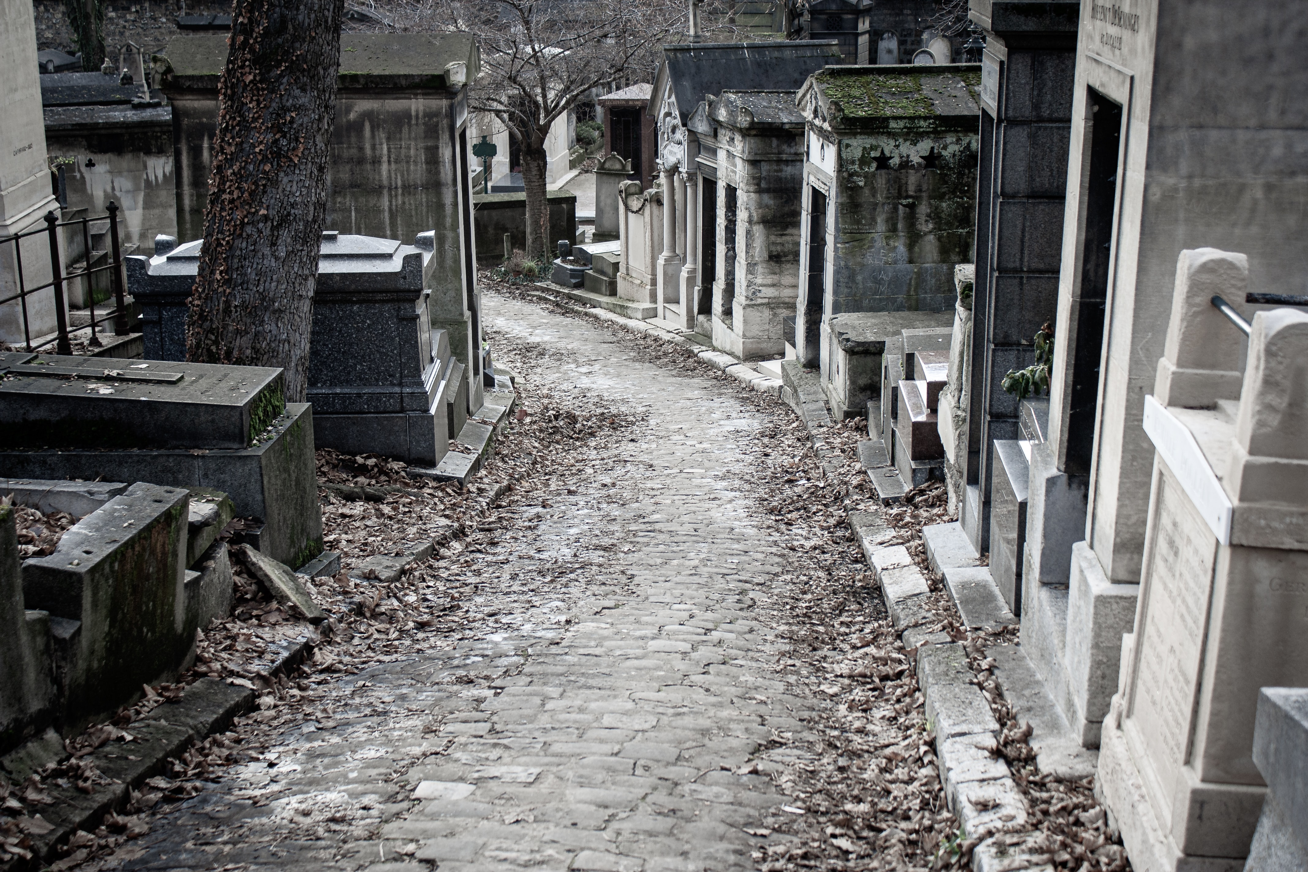 Père-Lachaise Cemetery, Paris, France, Things to do in Paris in Winter
