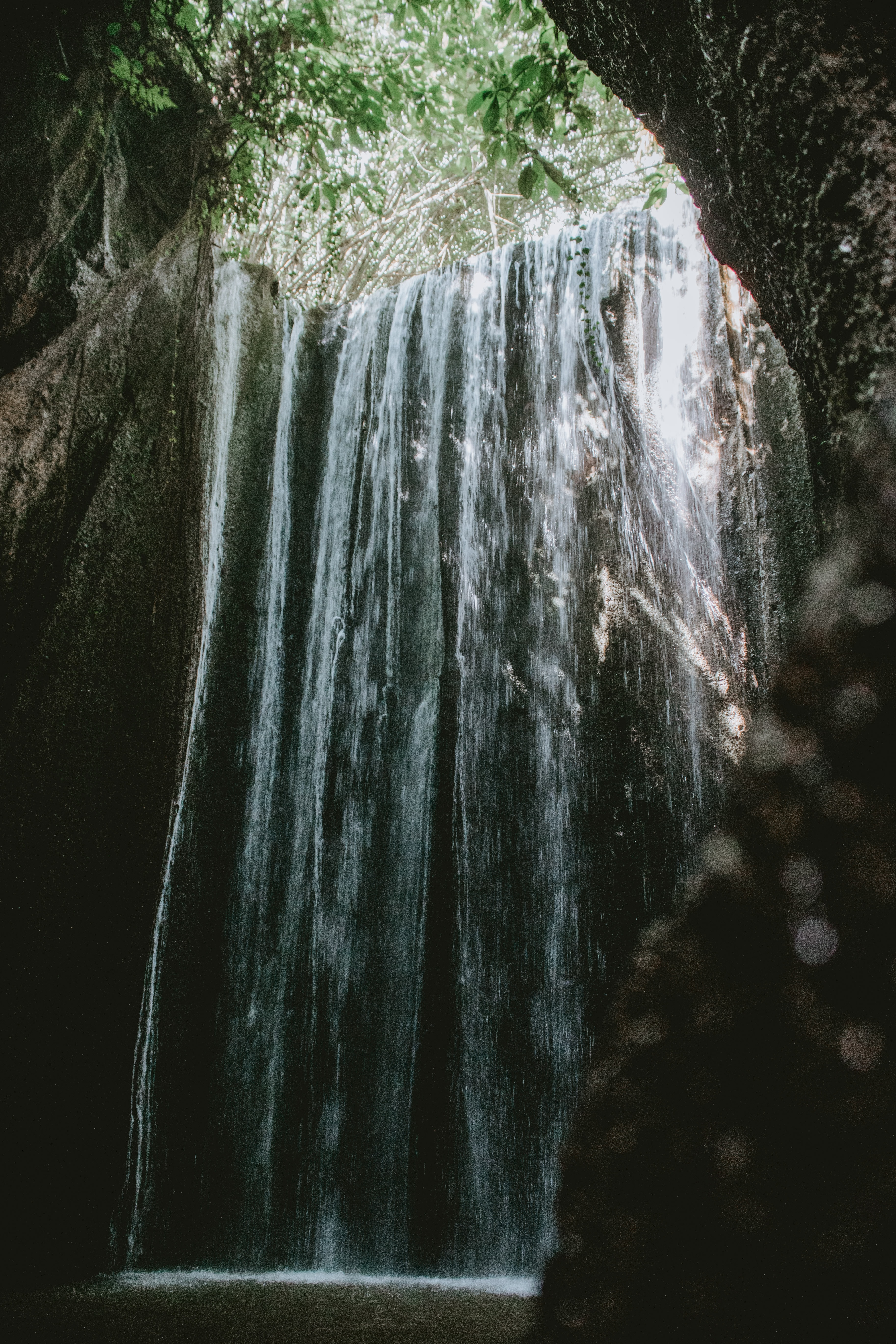 What to expect at Tukad Cepung Waterfall?
