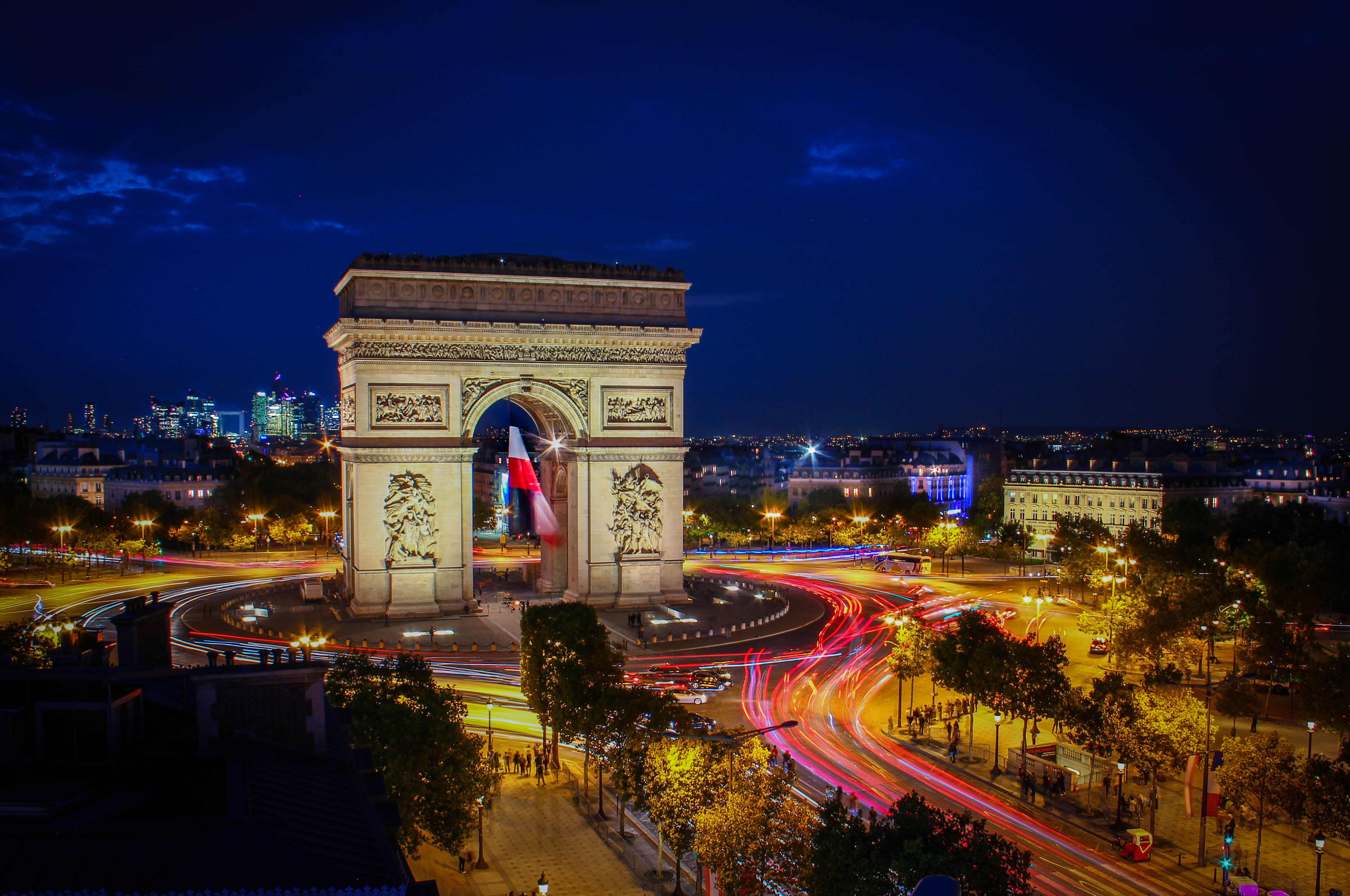 Night Walk hand in hand in Paris, France, Romantic Things to do in Europe