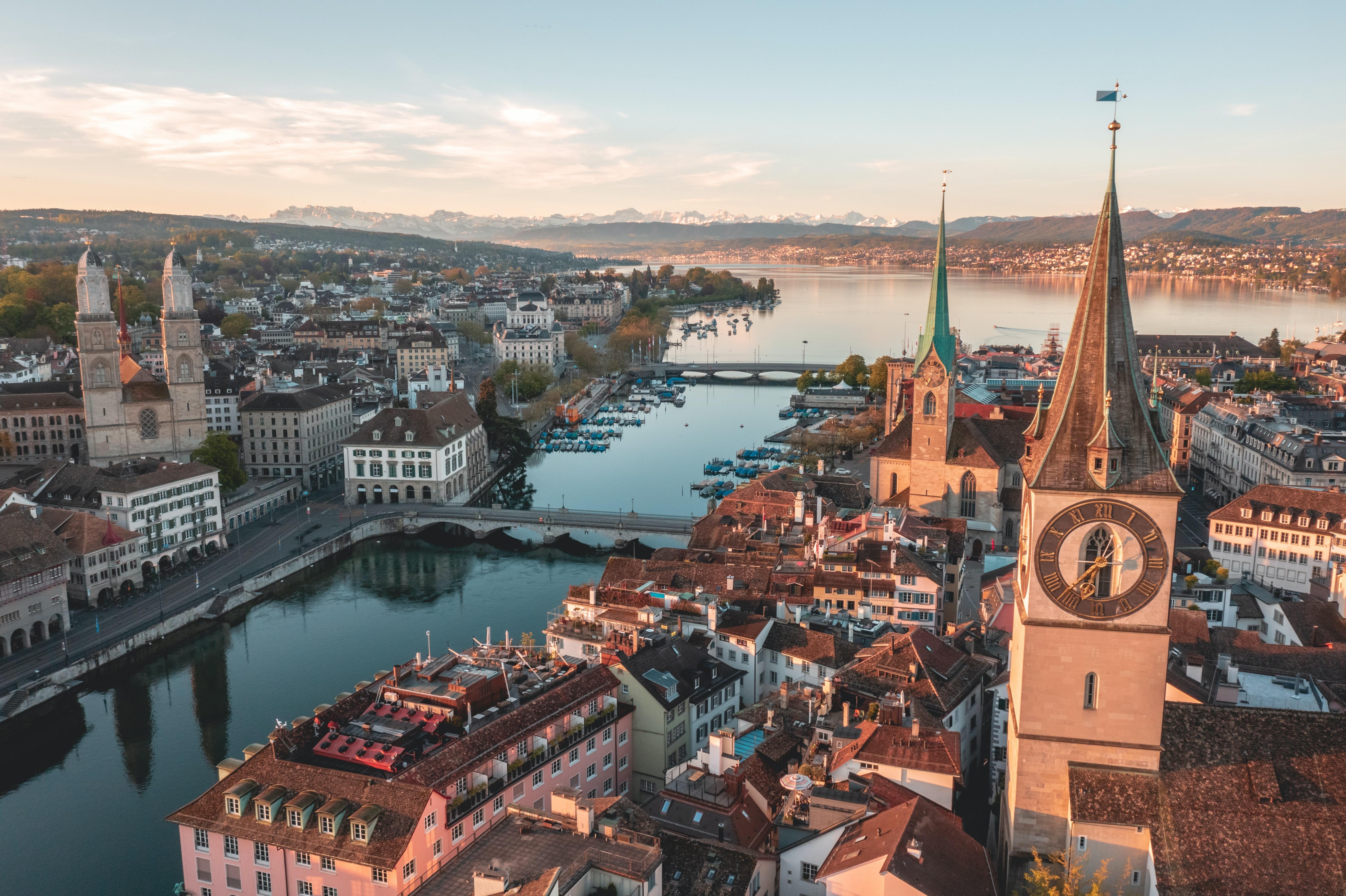 Zurich, Honeymoon place in Switzerland