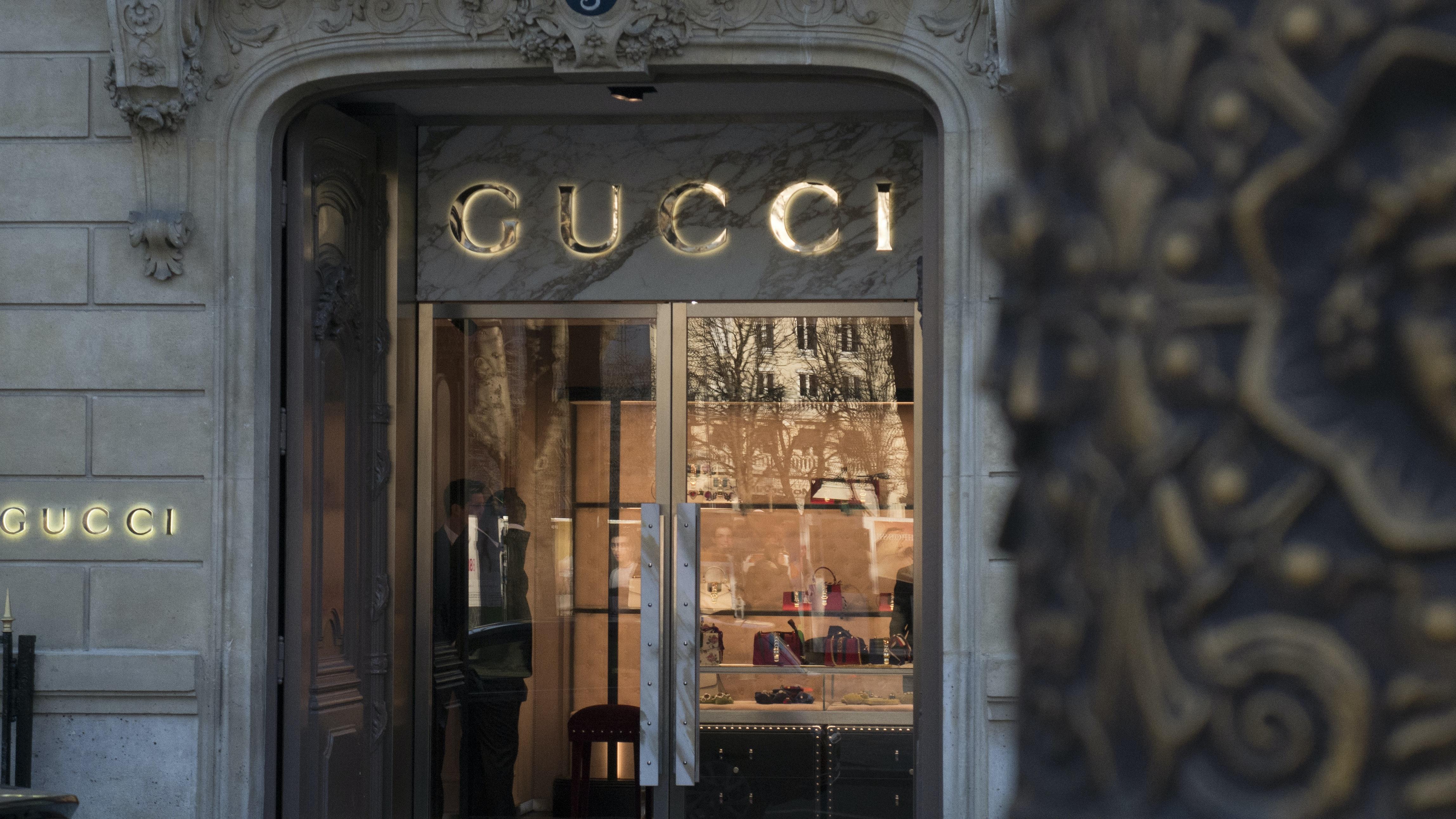 Gucci store in Paris