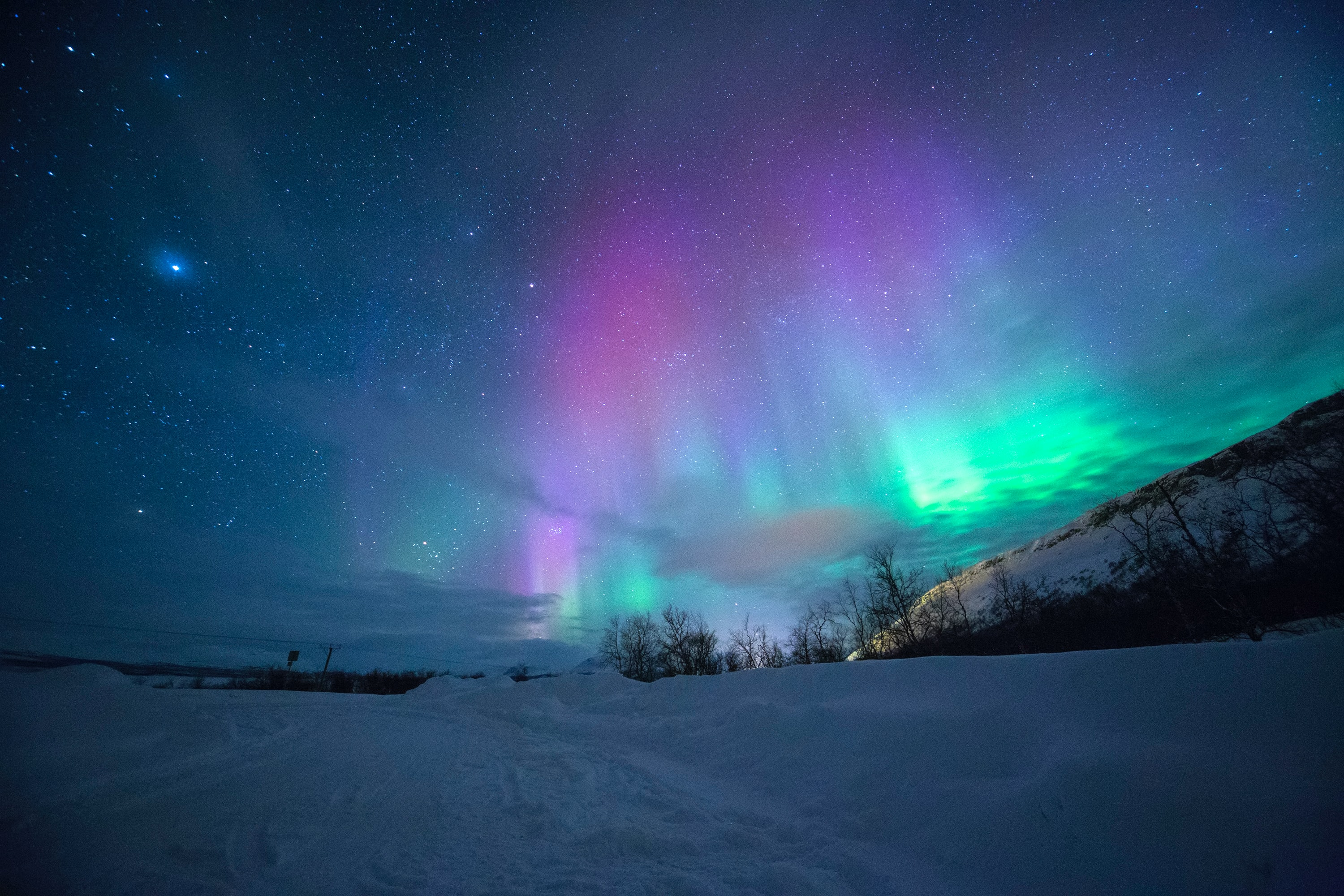 Northern Lights, best things to do in Iceland in winter