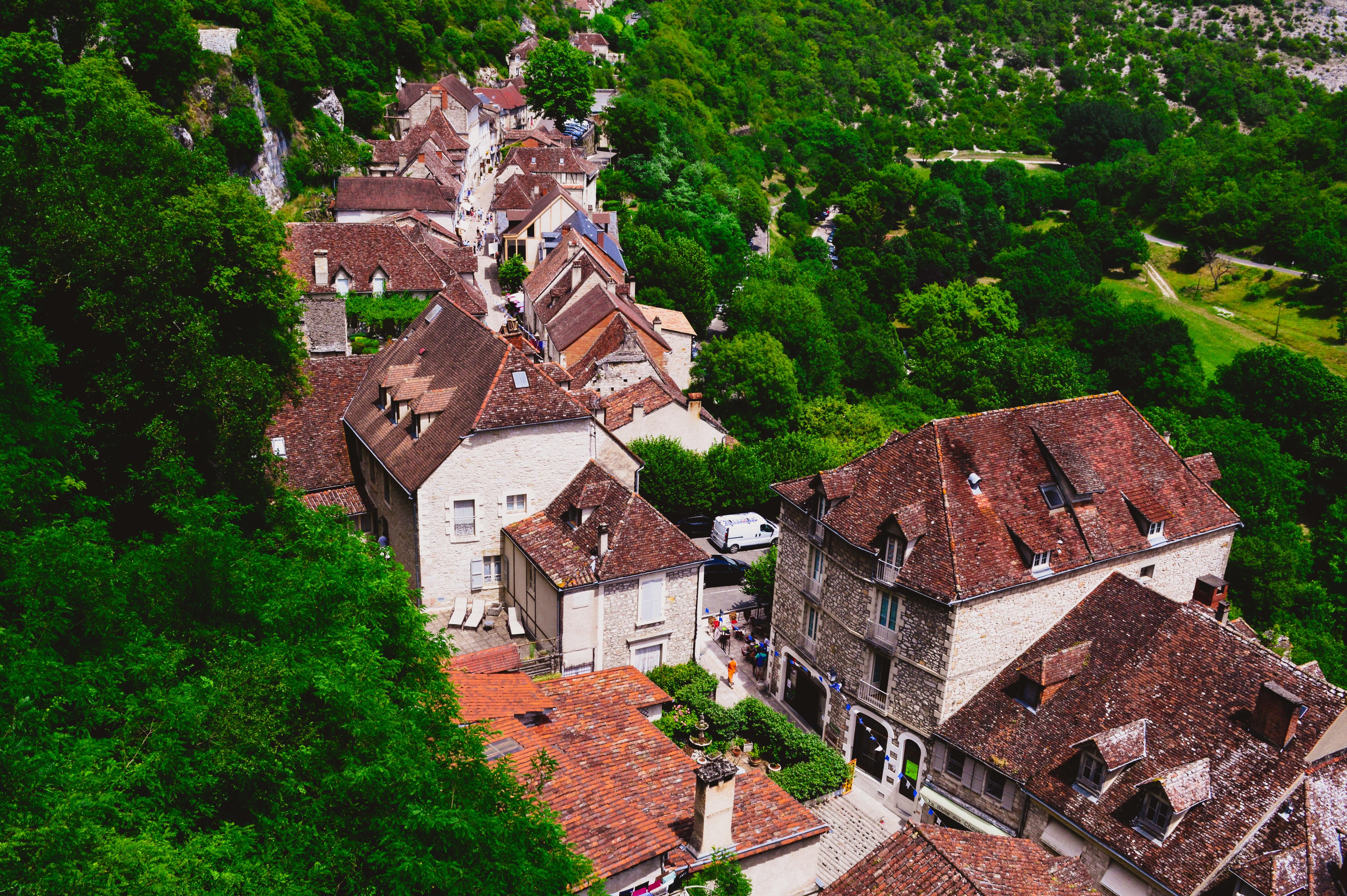 Rocamadour, France in June
