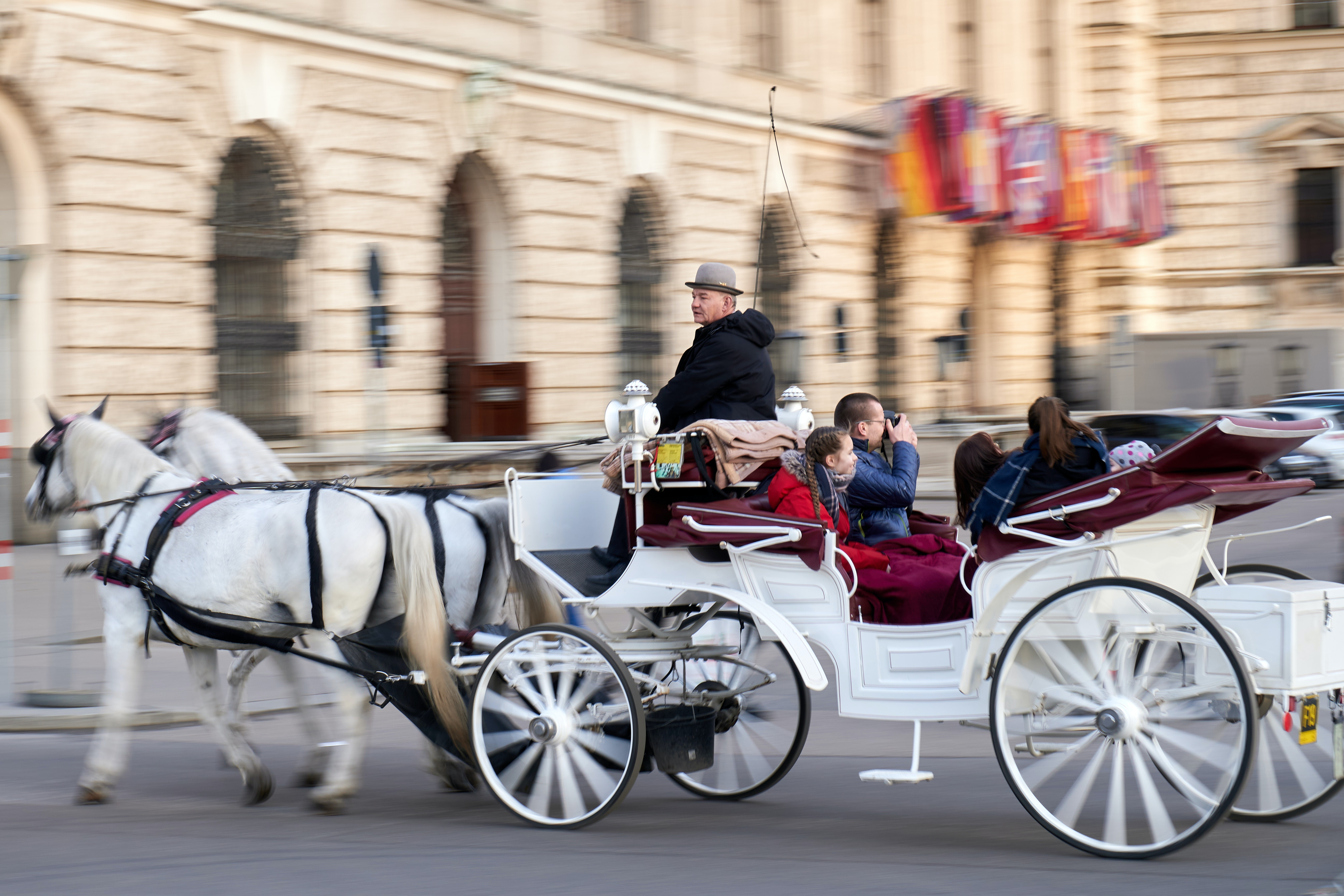 Try out a Horse Carriage Ride in Vienna, Austria, Romantic Things to do in Europe