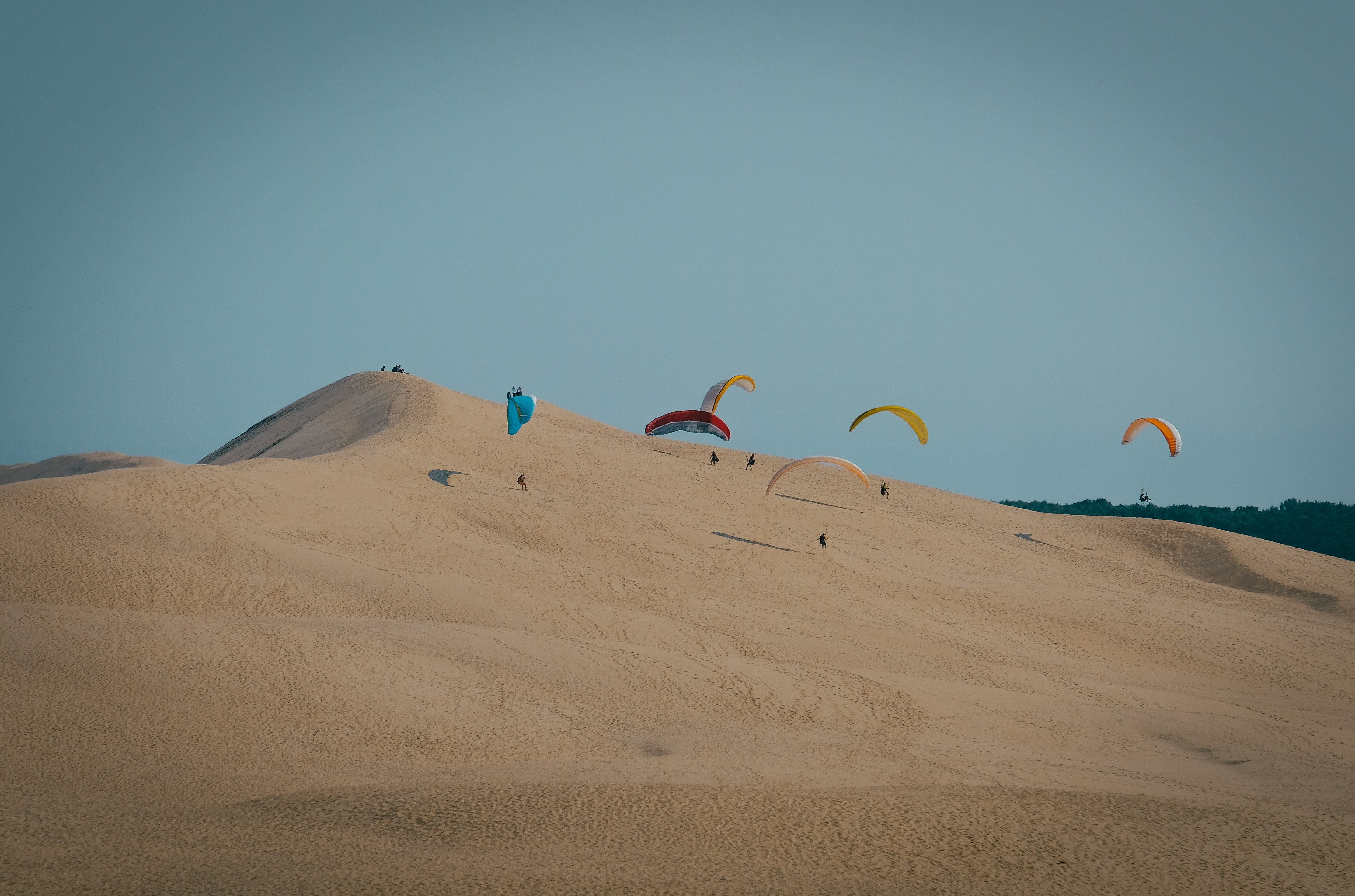 Paraglide at Dune du Pyla in Gironde, France, Romantic Things to do in Europe