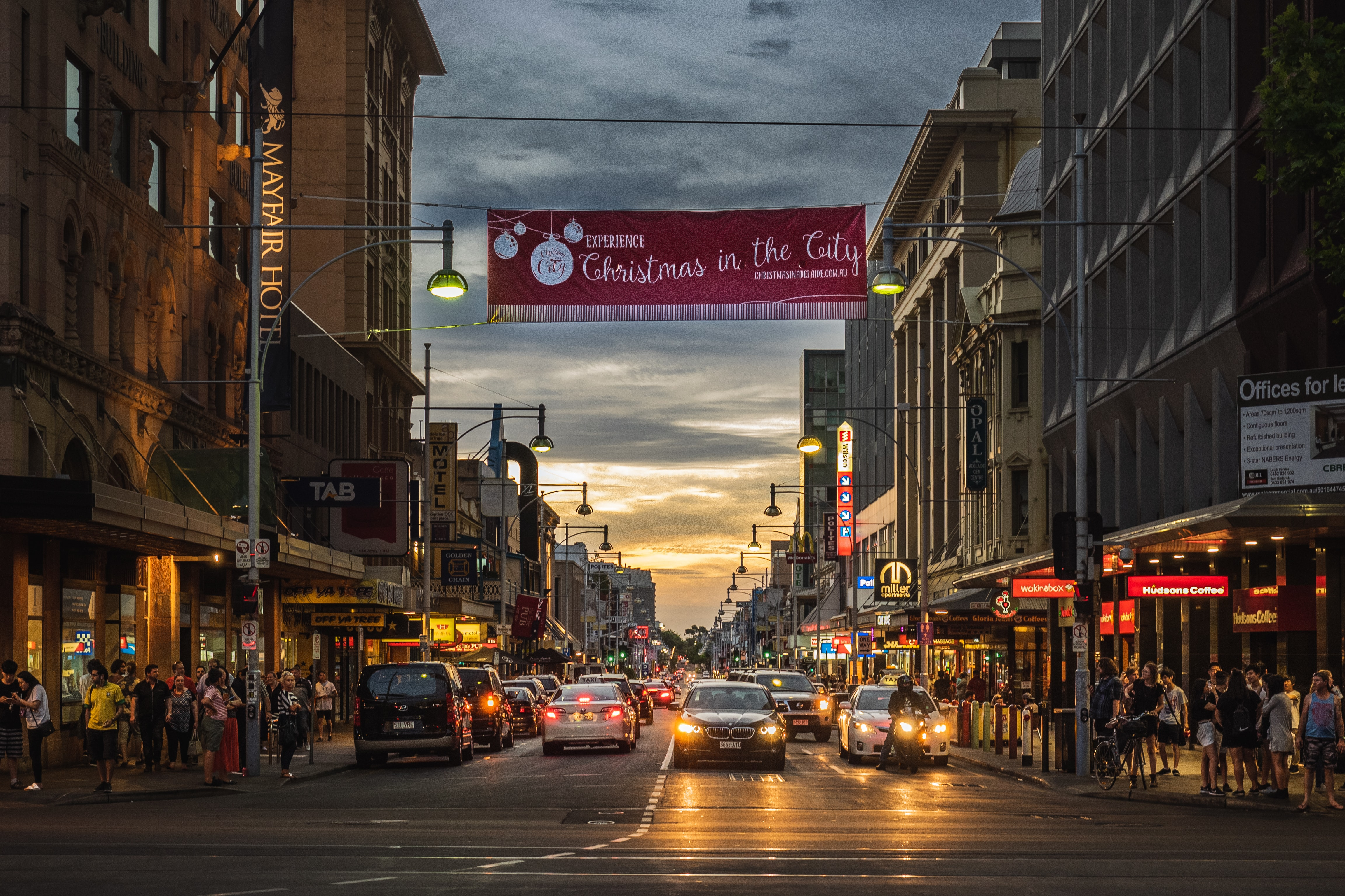 Rundle Mall, things to see in Adelaide, Australia