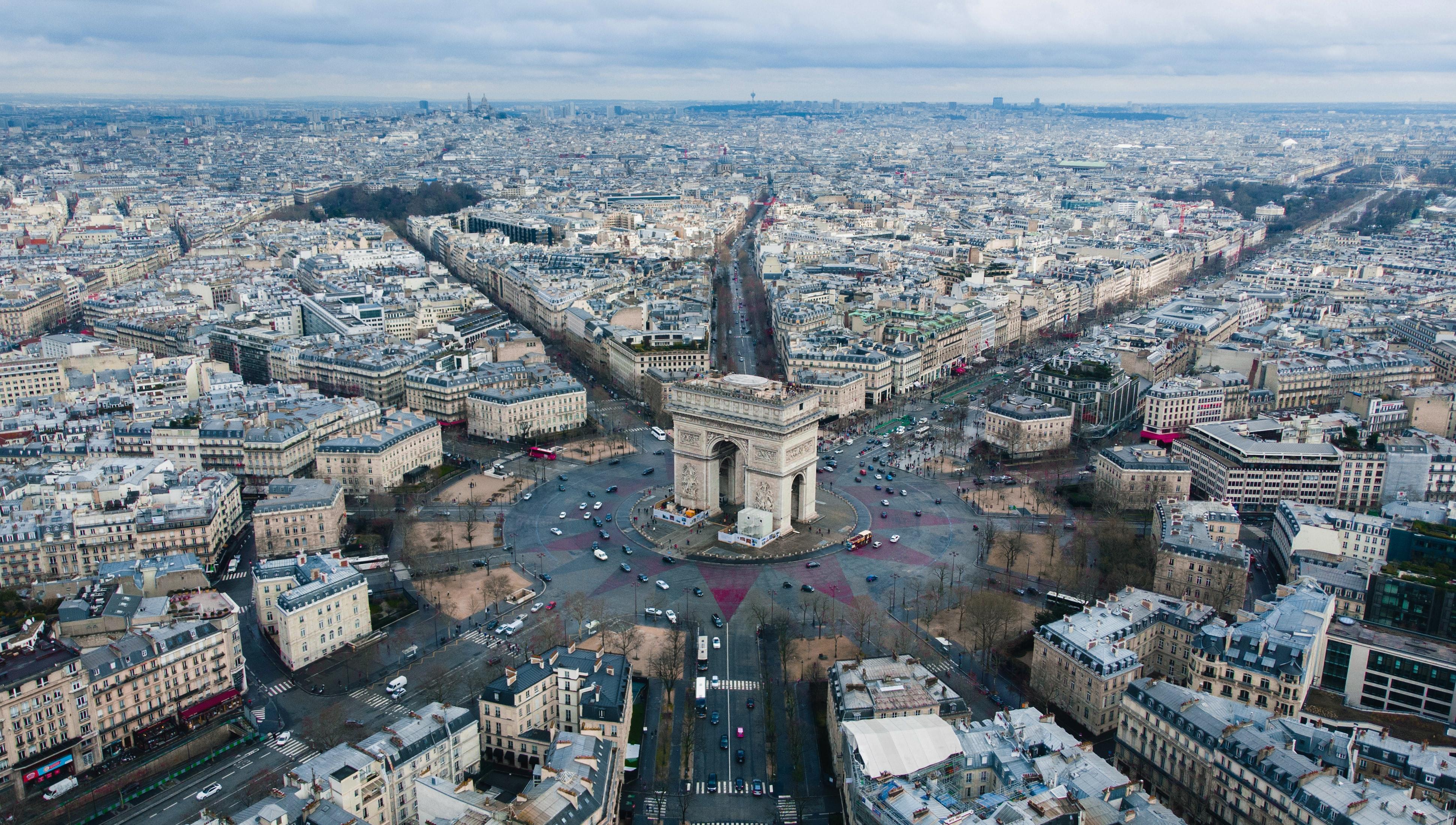 Arc de triomphe, 15 romantic places to visit in Paris