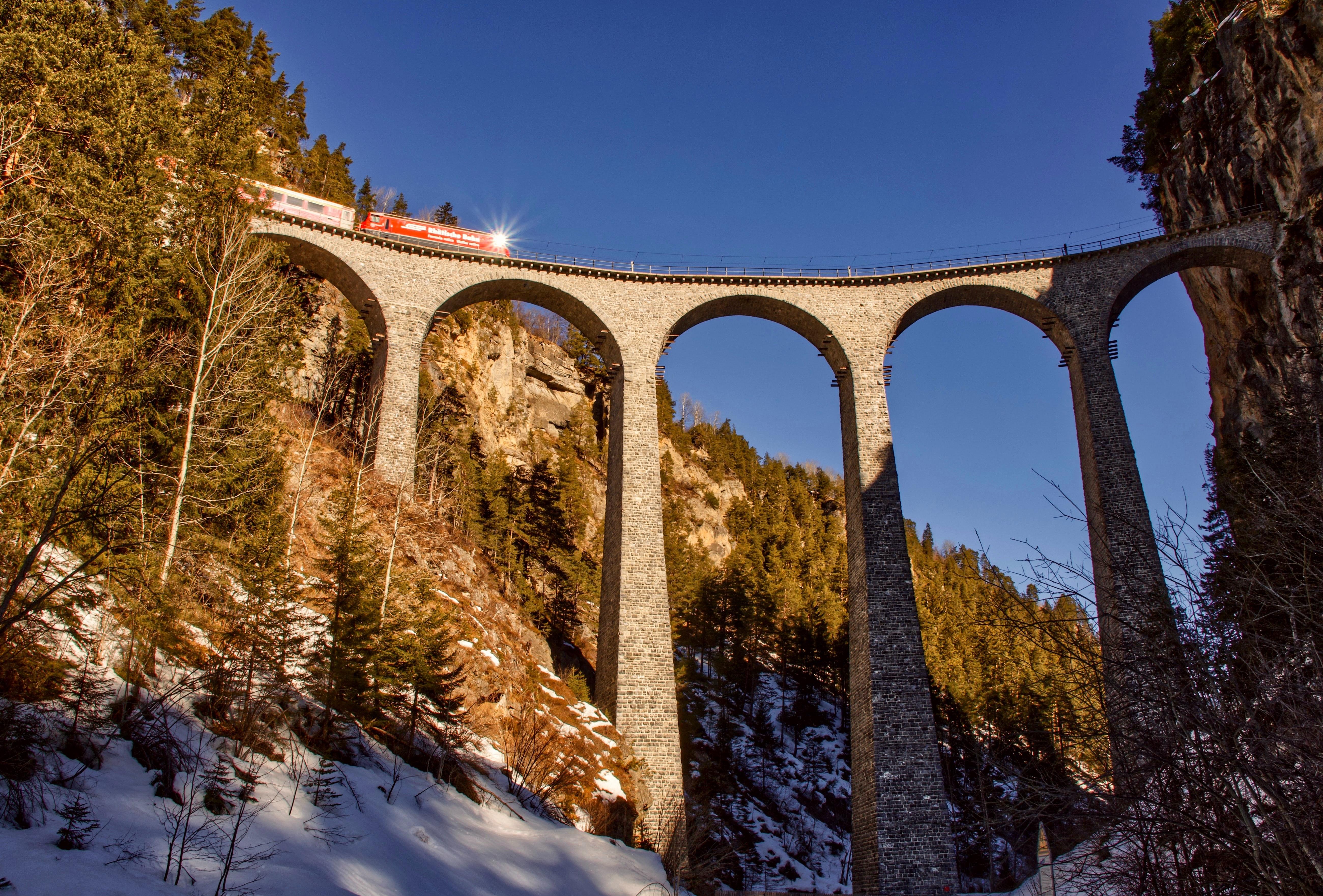 Ride in Bernina Express, Things to do in Switzerland