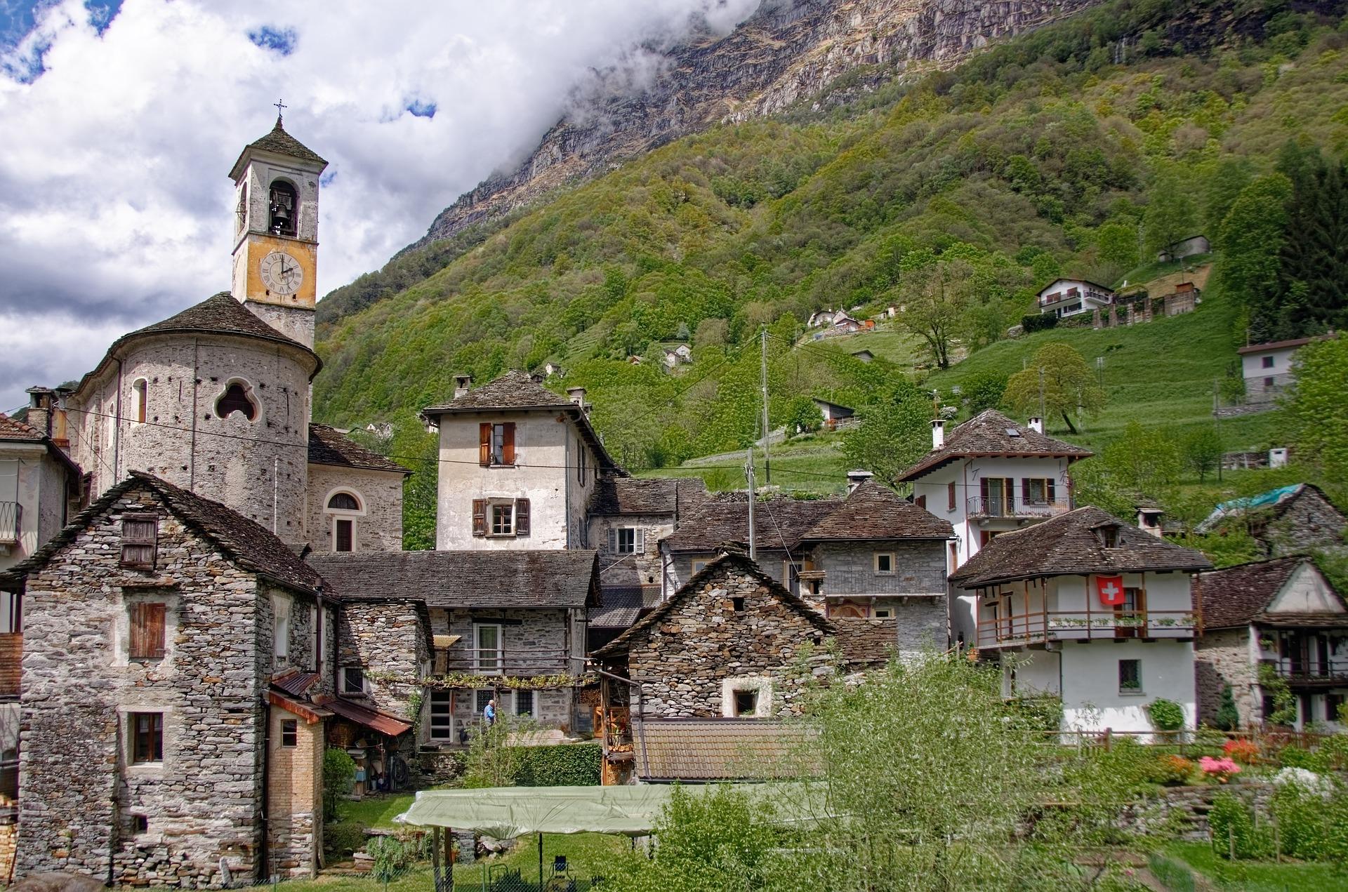 Ticino, Honeymoon Places in Switzerland