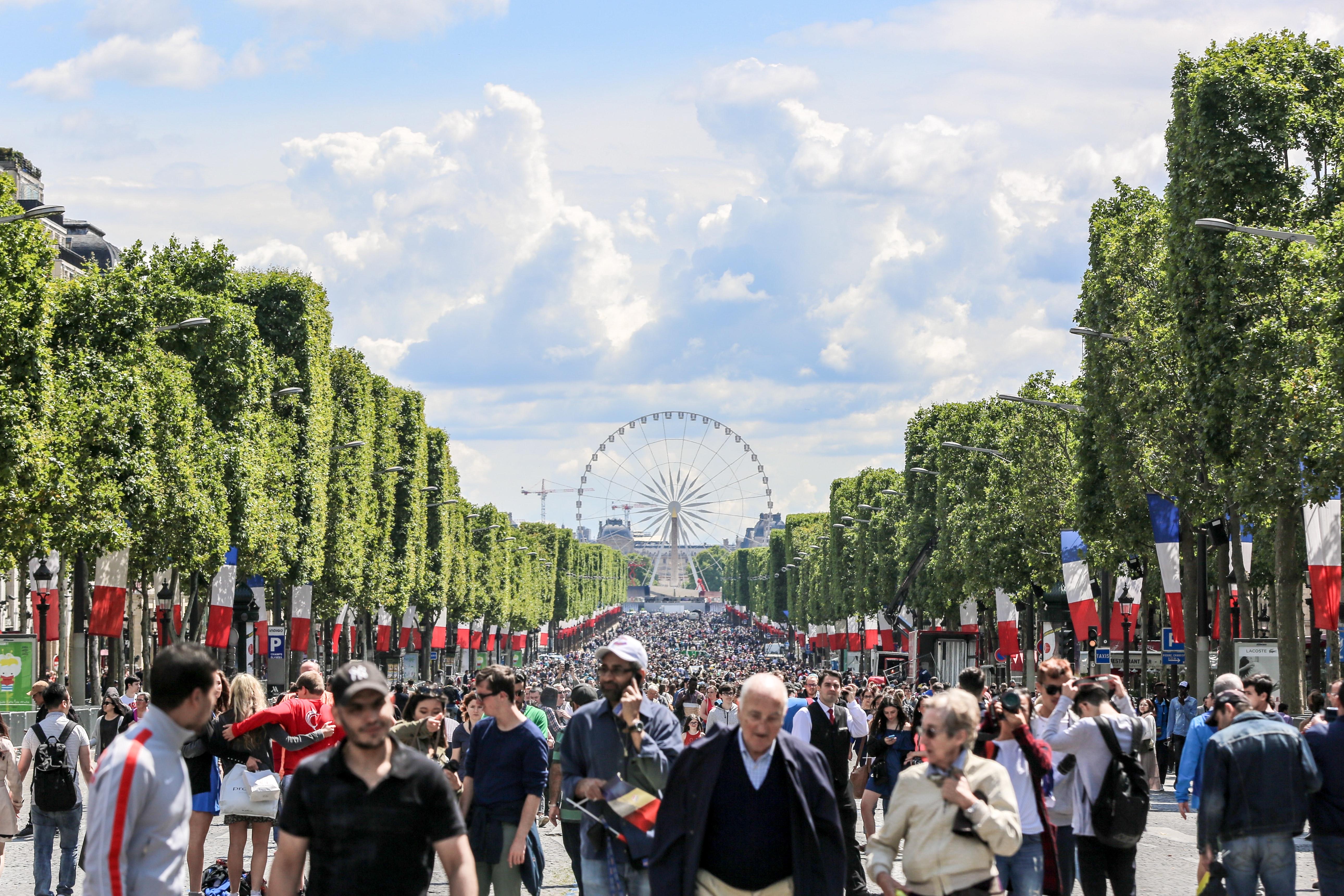 Champs Elysees Bastille Day
