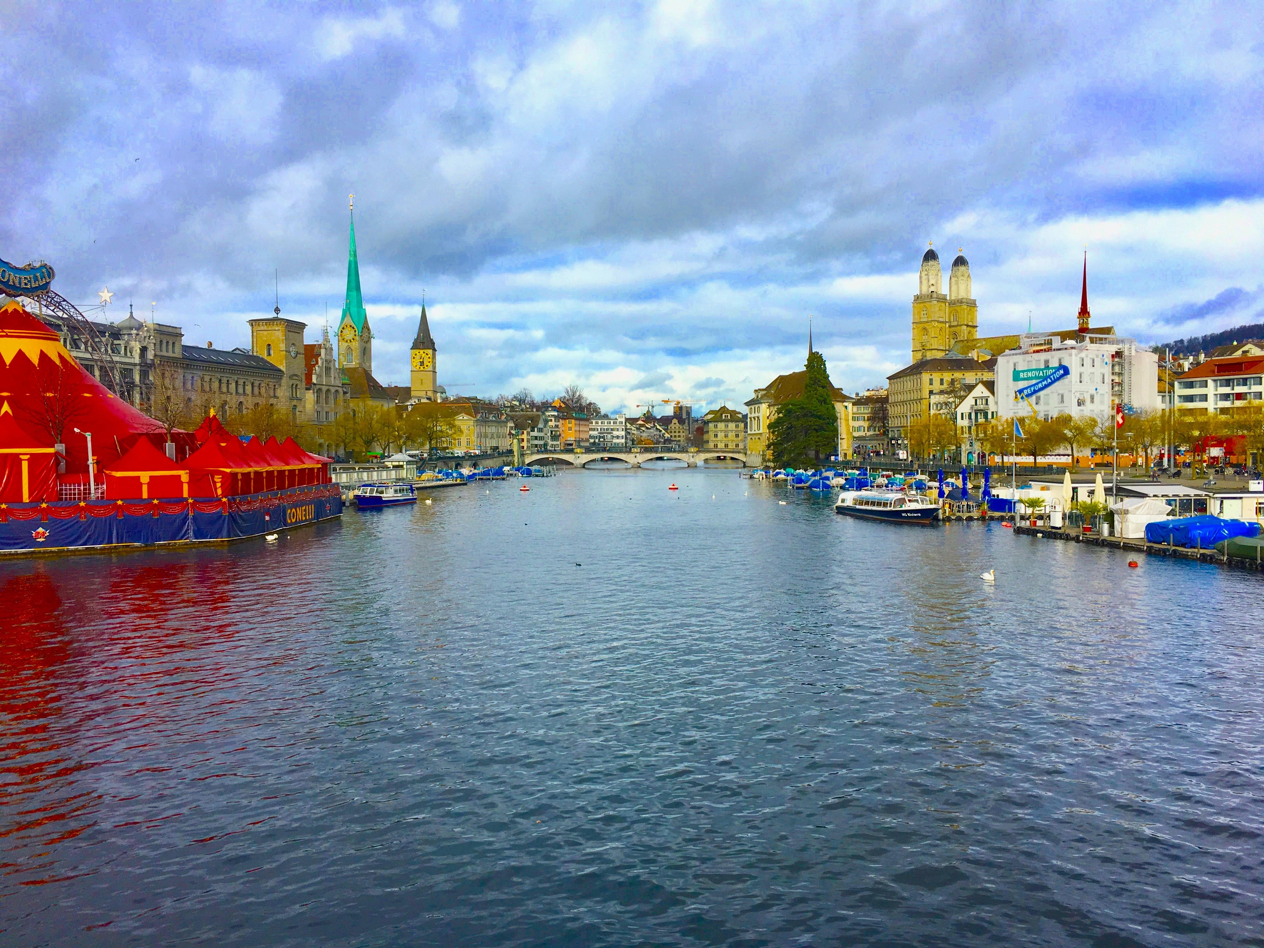 Zurich, Lakes in Switzerland