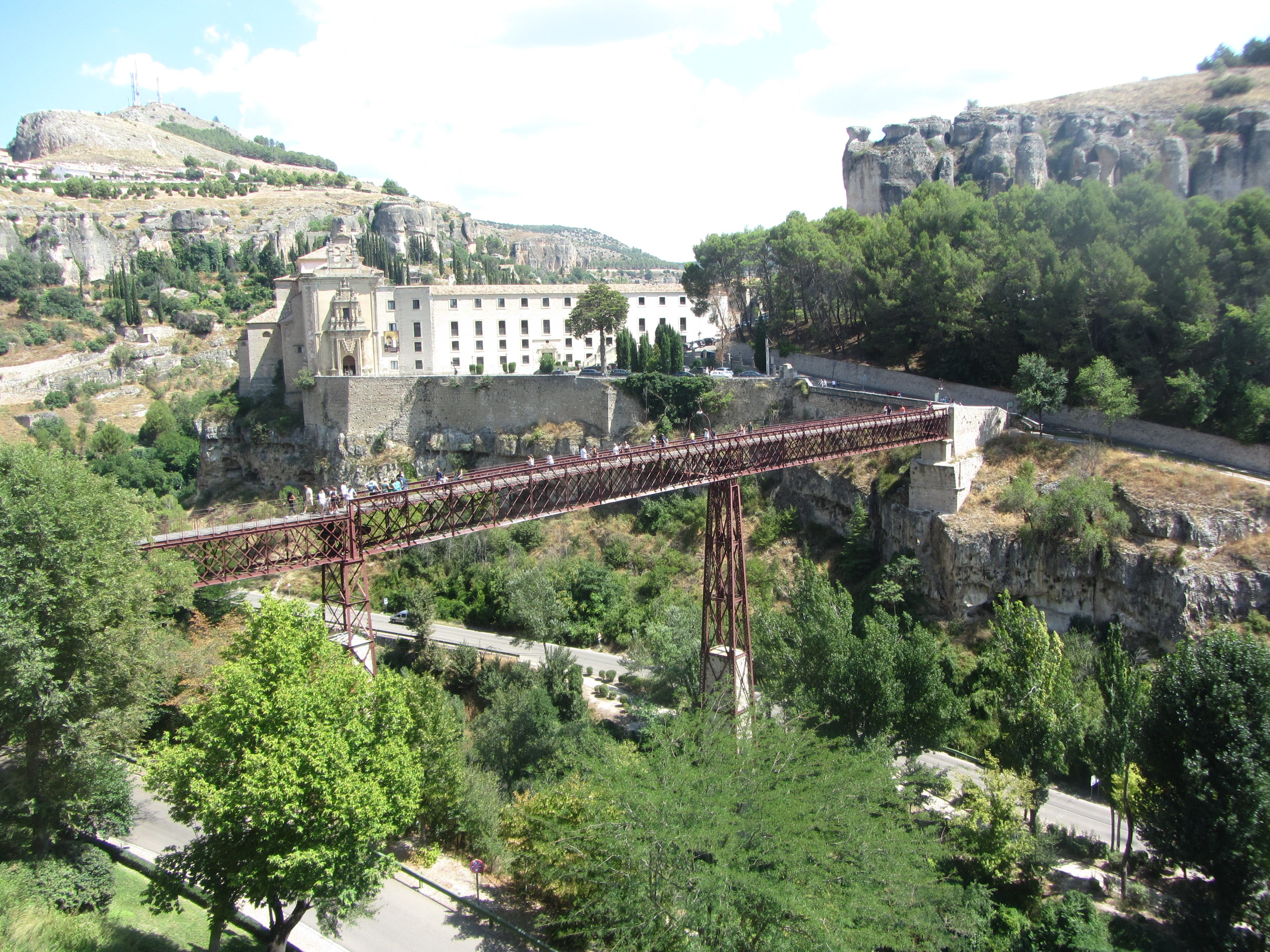 Fortress Town and Hanging Houses of Cuenca, UNESCO sites in Spain