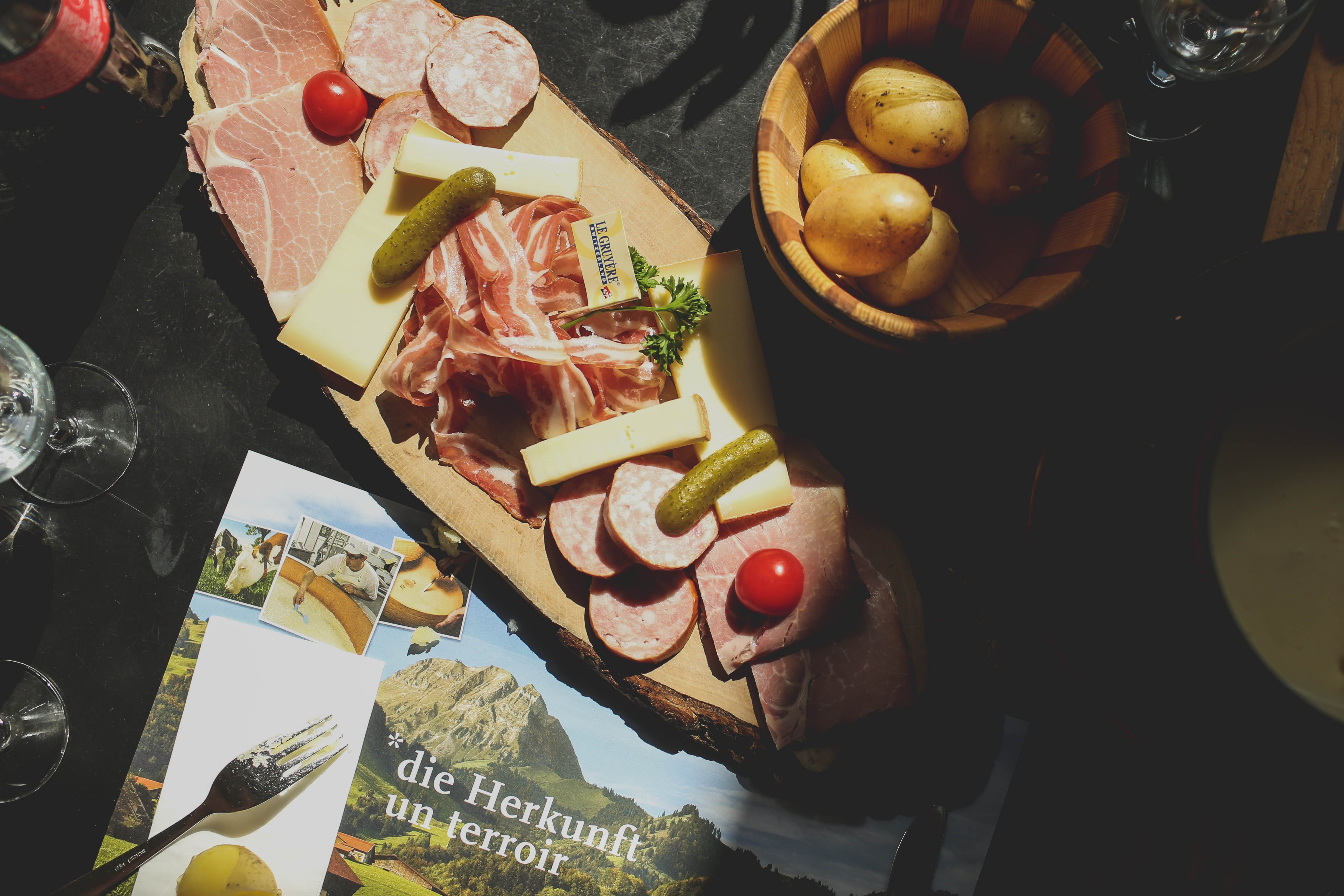 Find out about a local culture, Gruyères, Switzerland