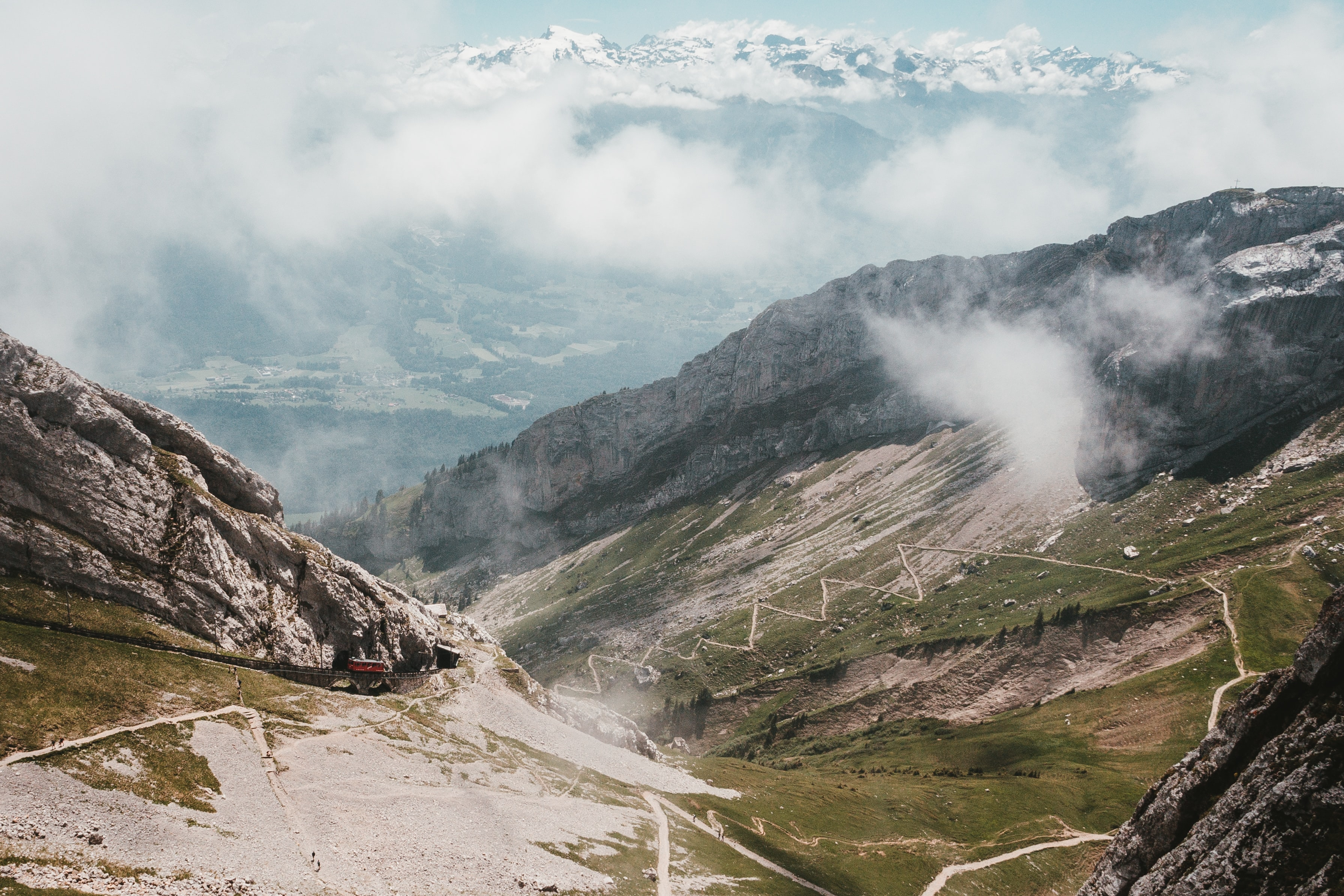 cogwheel, most scenic train journeys to take in Switzerland