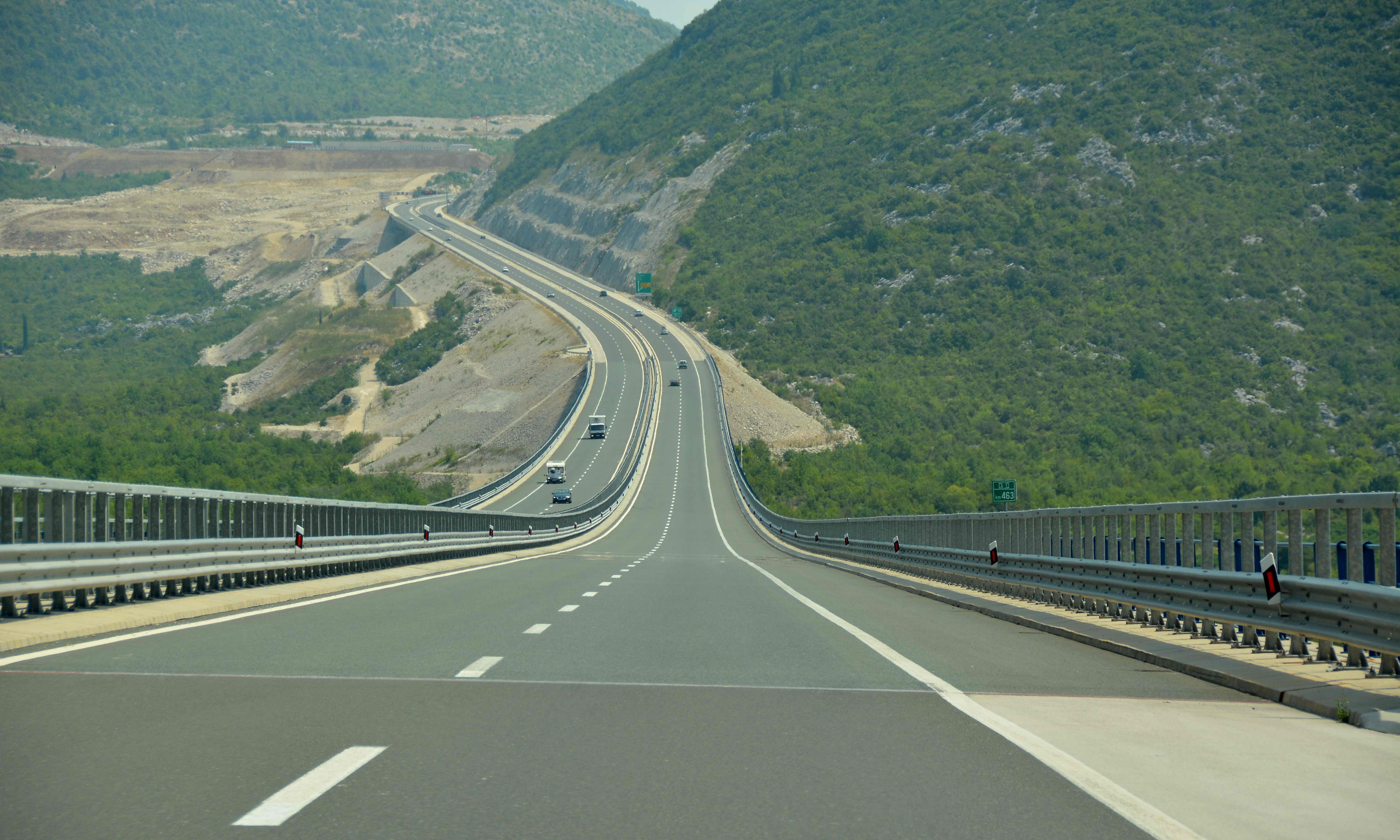The highways are free of traffic, Reasons to visit Croatia in December