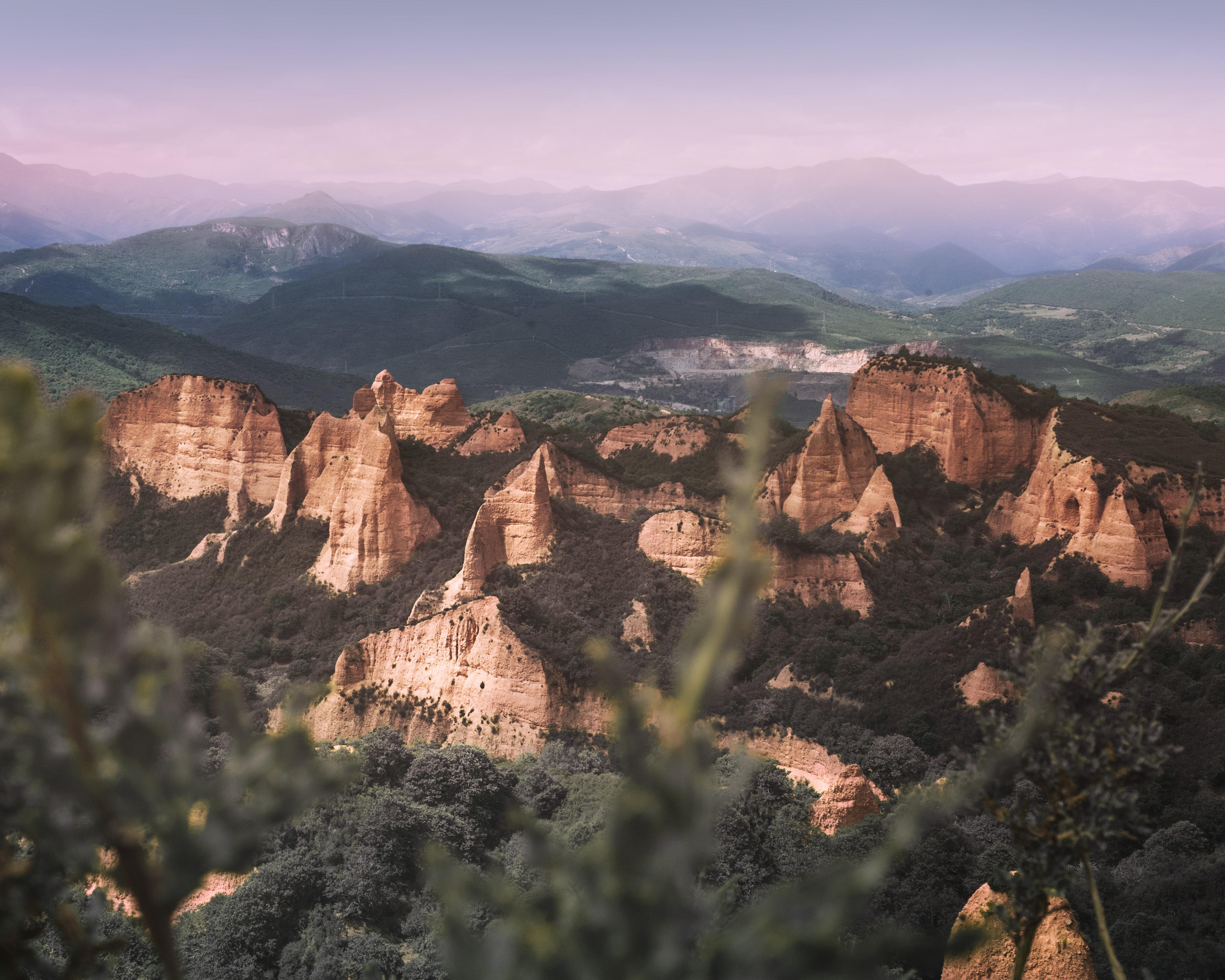 Las Medulas Ponferrada, UNESCO sites in Spain
