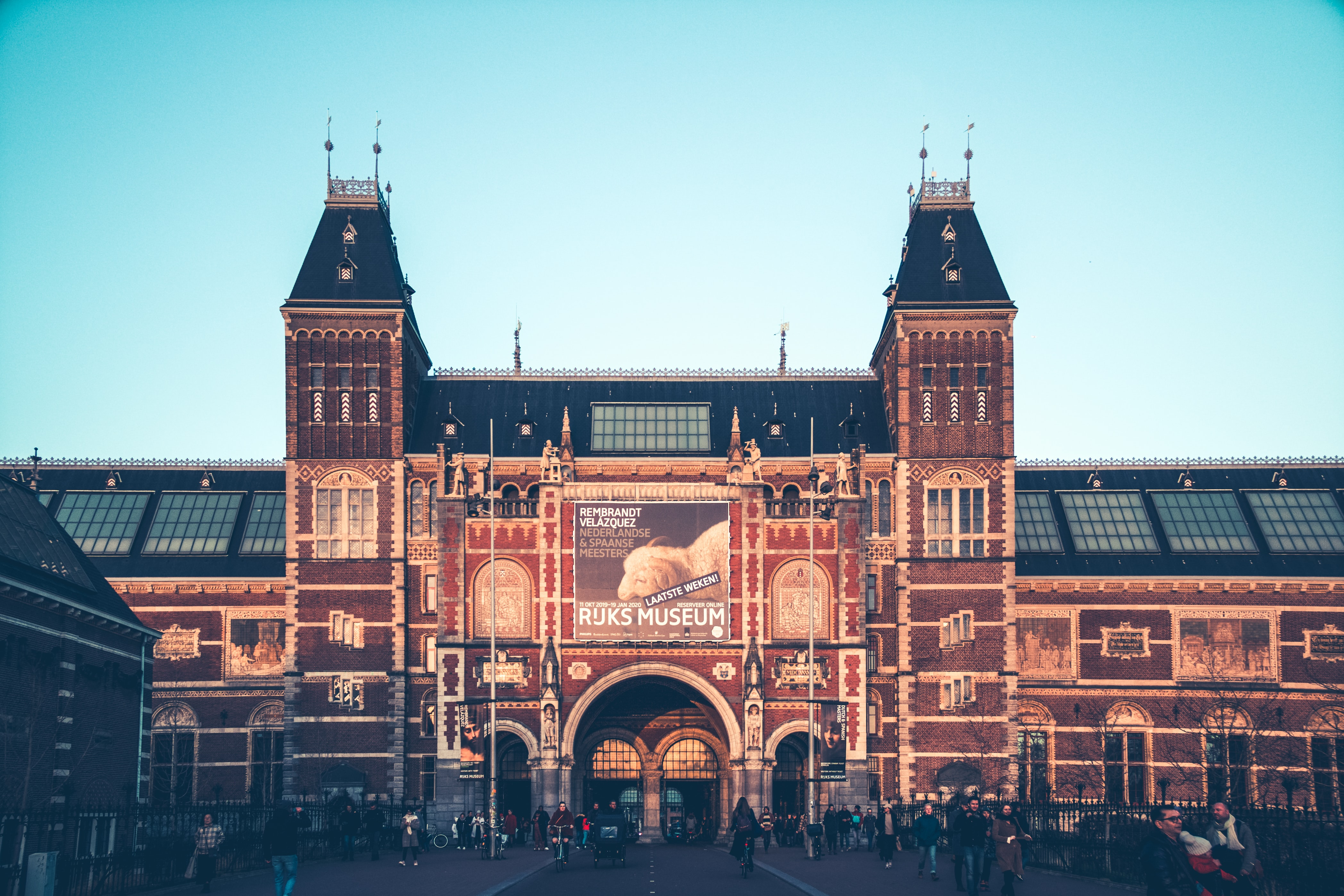 Travel to the Rijksmuseum Amsterdam Passage, Amsterdam, Netherlands