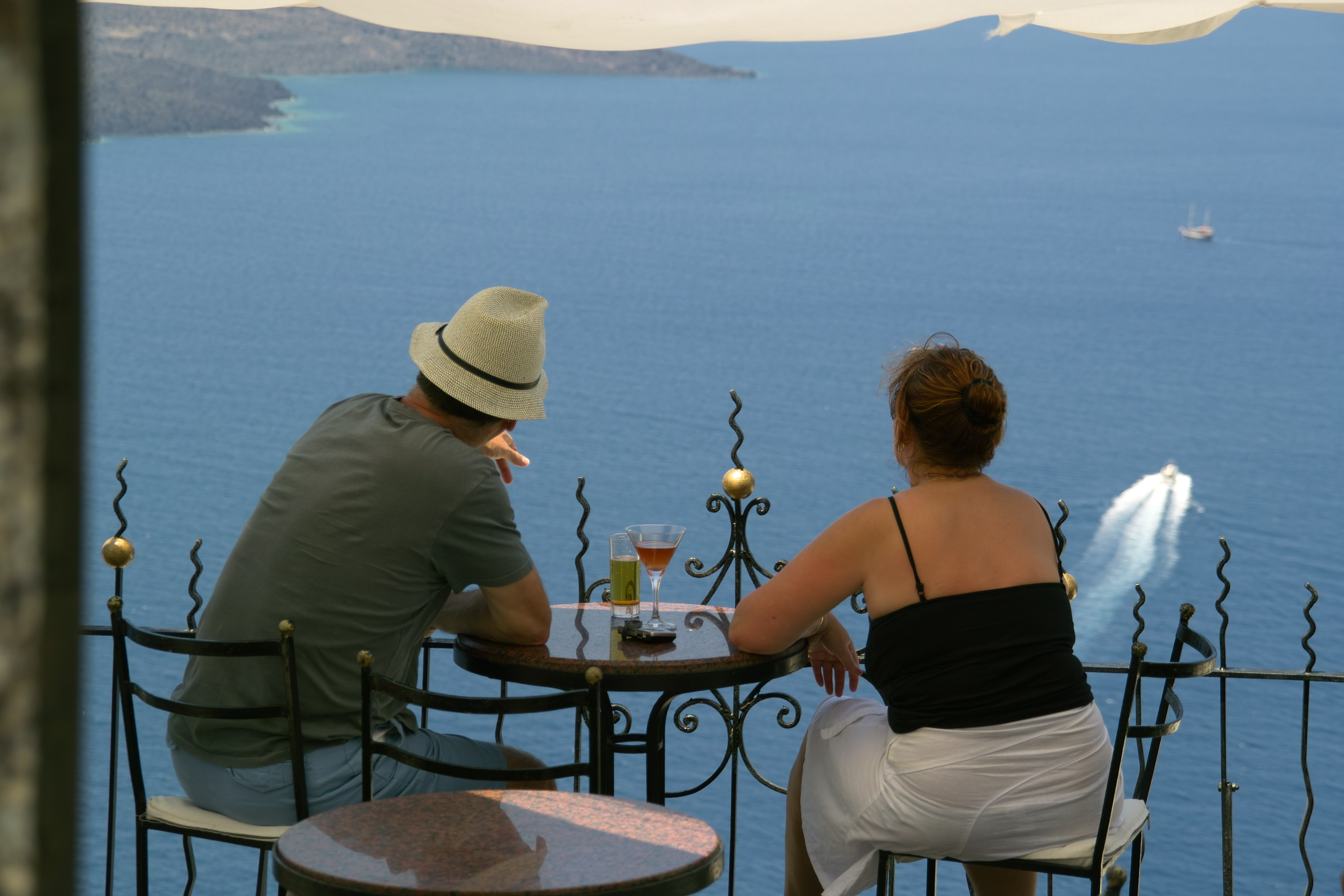 Rooftop Bar, Best places to watch sunset in Santorini