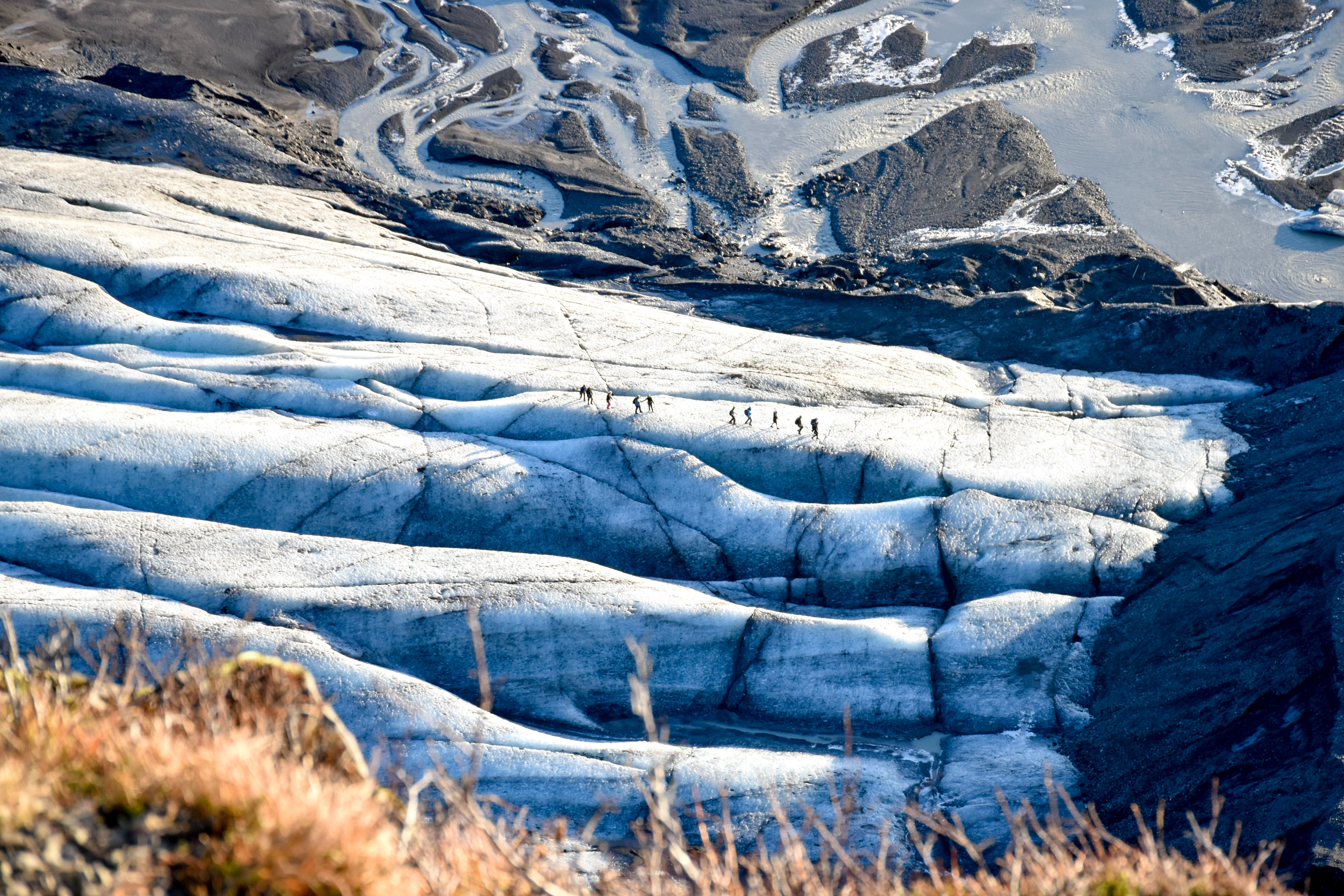 Climbing glacier, Adventurous Things To Do In Iceland