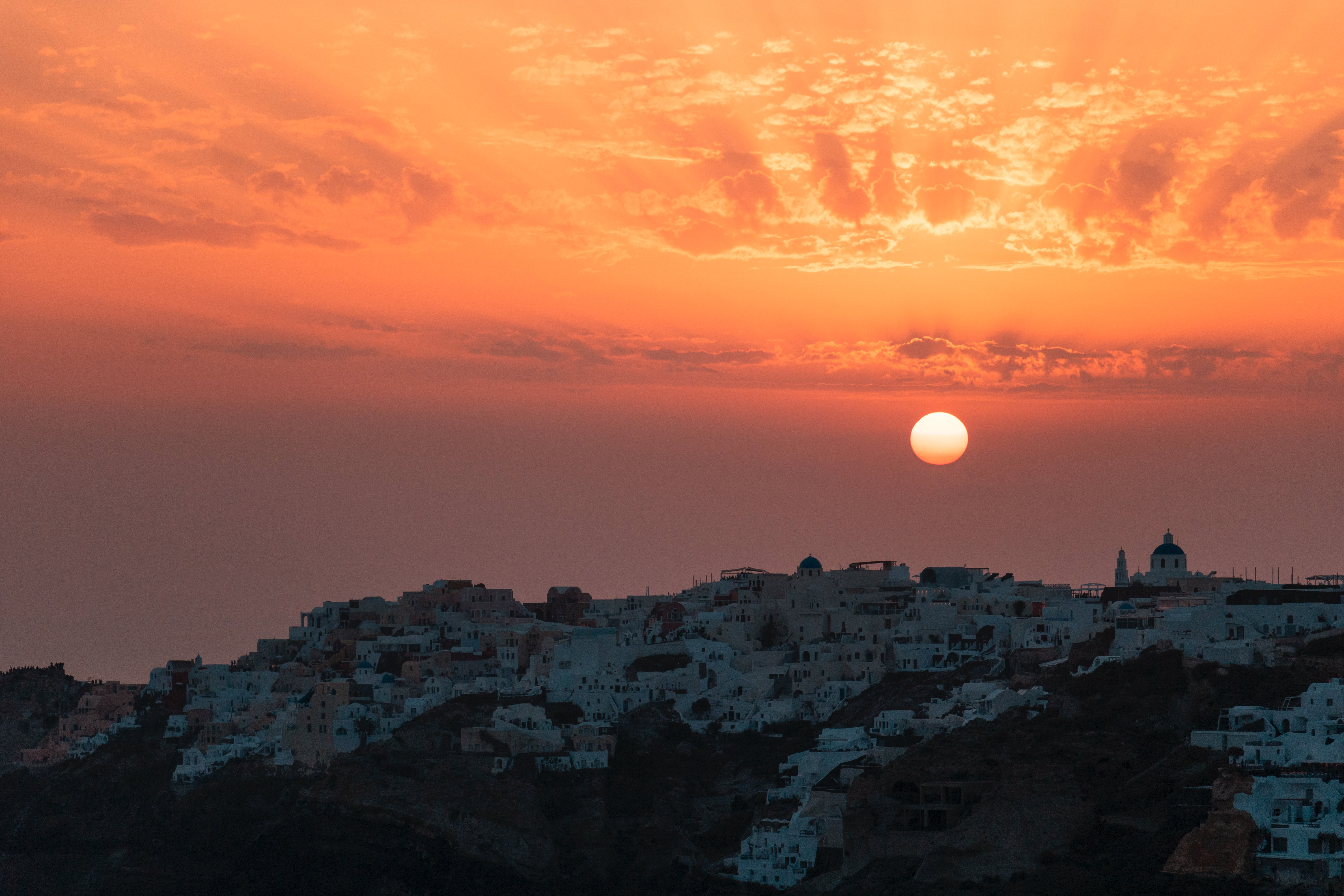 Best places to watch sunset in Santorini