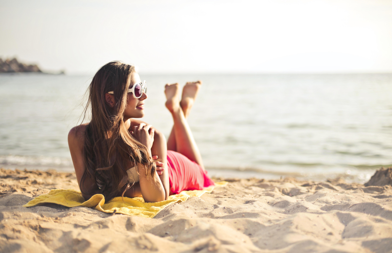 Sunbathing on the Beaches, Summer in Spain