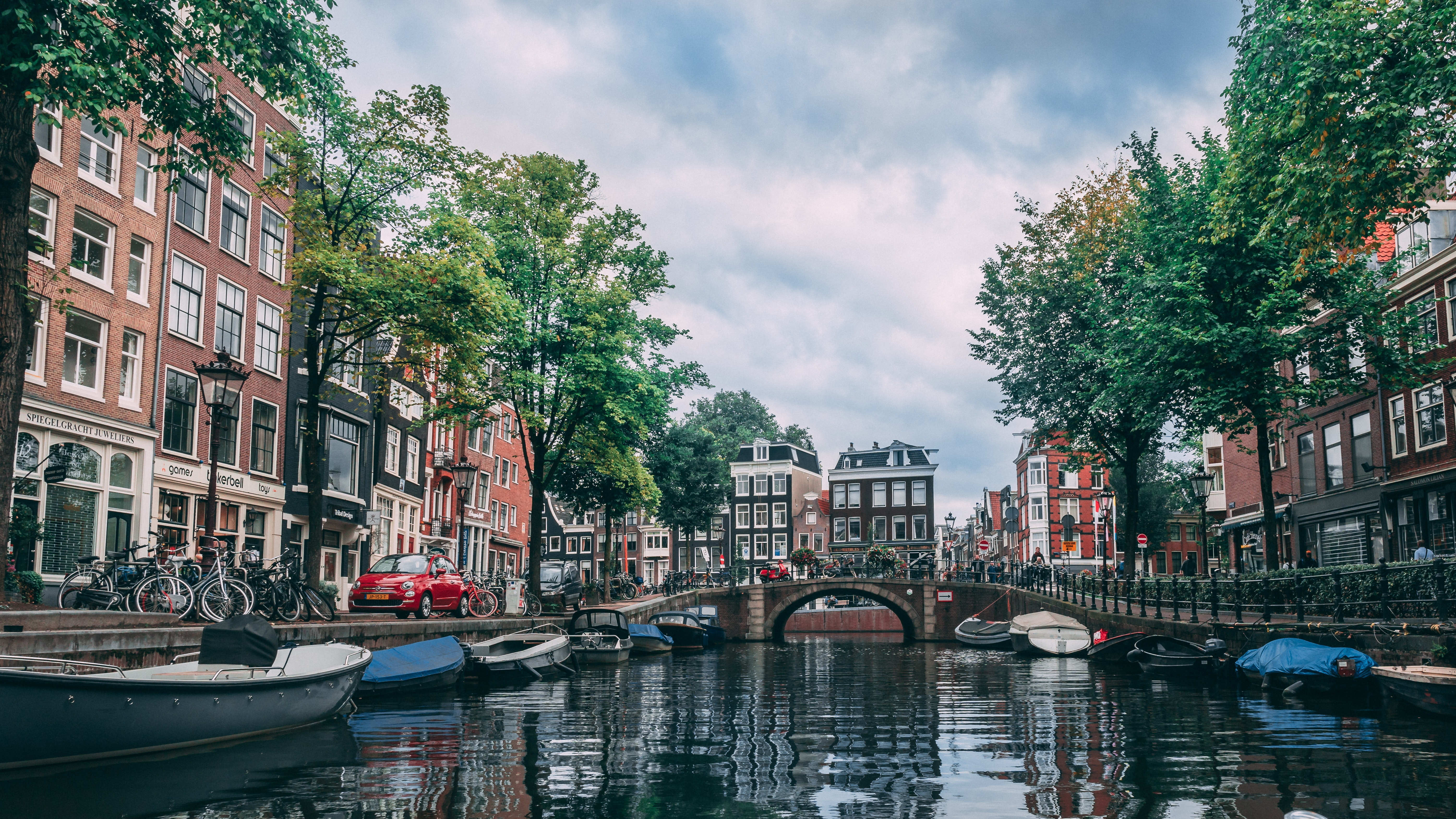 Canal Boat Tour, Things To Do In Amsterdam