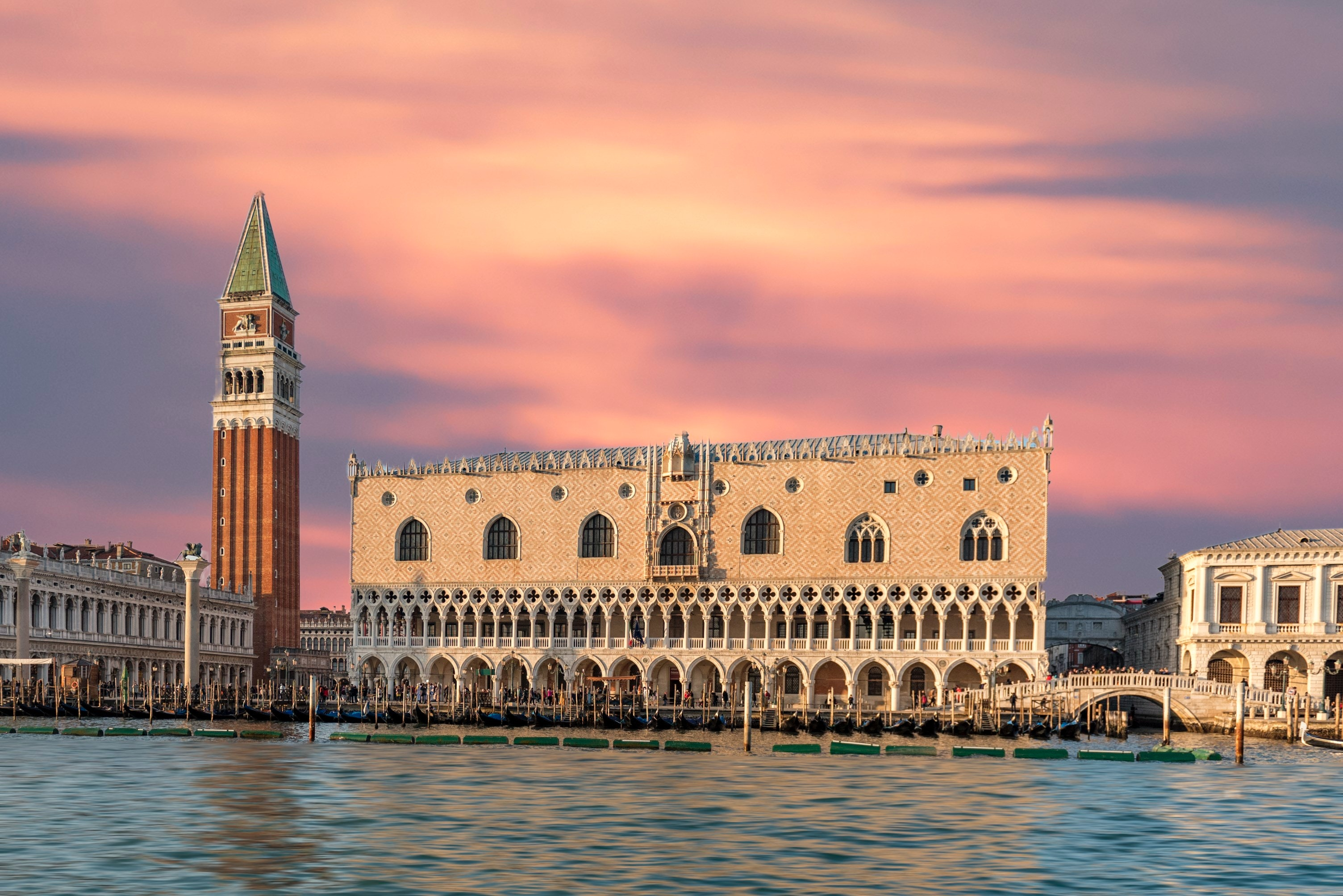 Doge's Palace in Italy