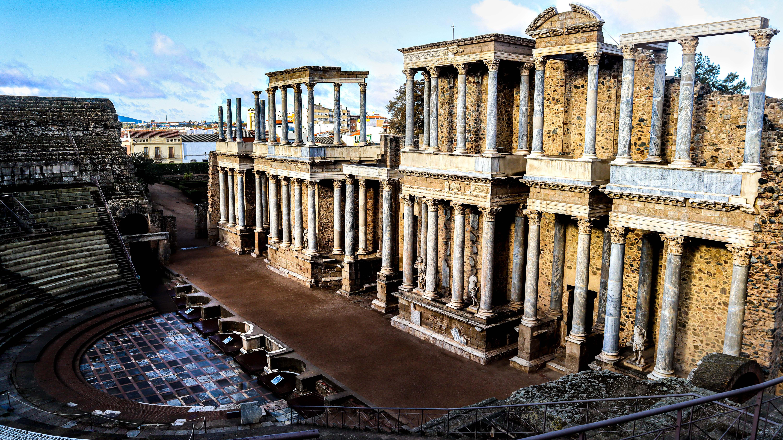 Archaelogical Ensemble of Merida, UNESCO sites in Spain