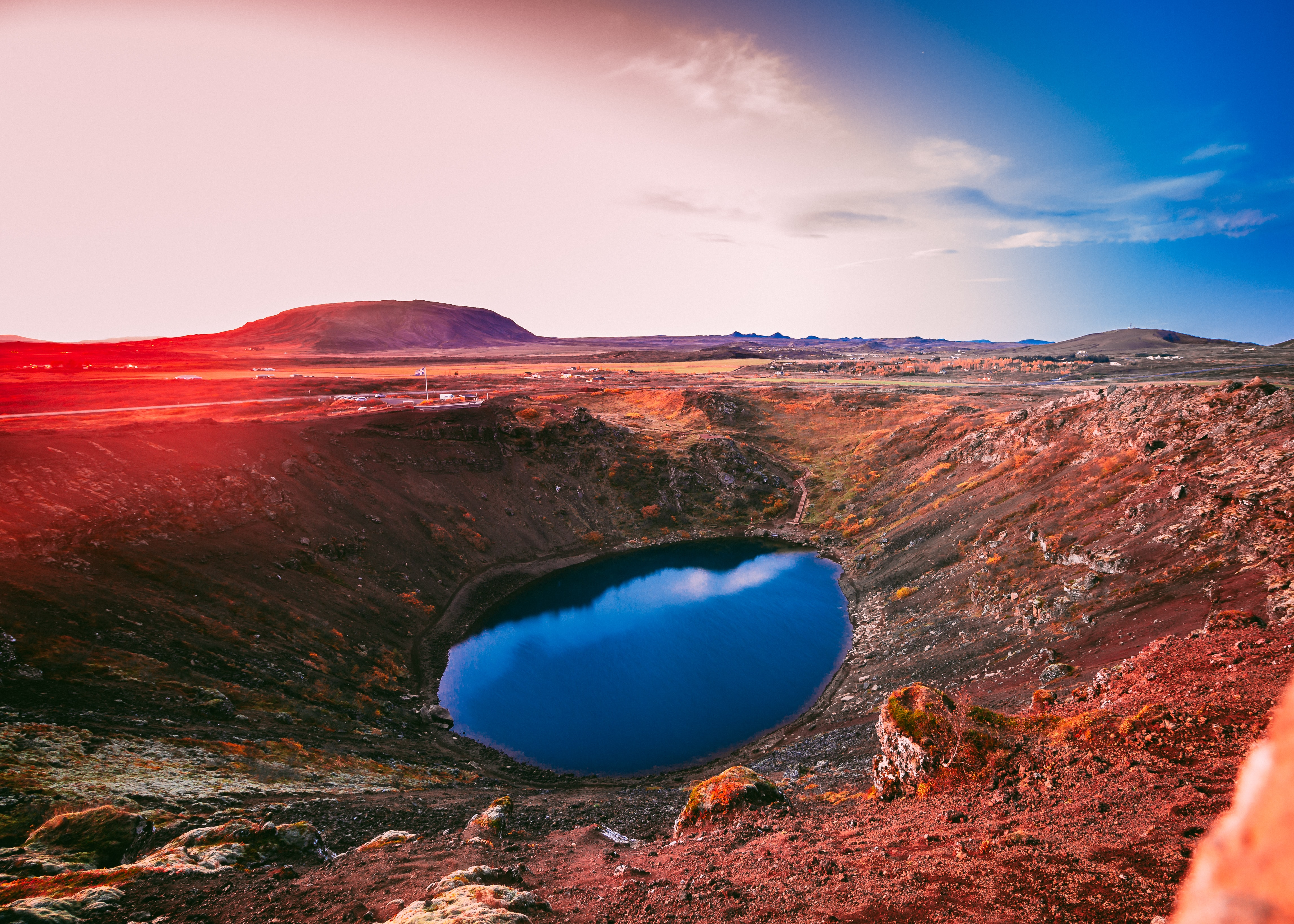 Kerið, Best lakes in Iceland
