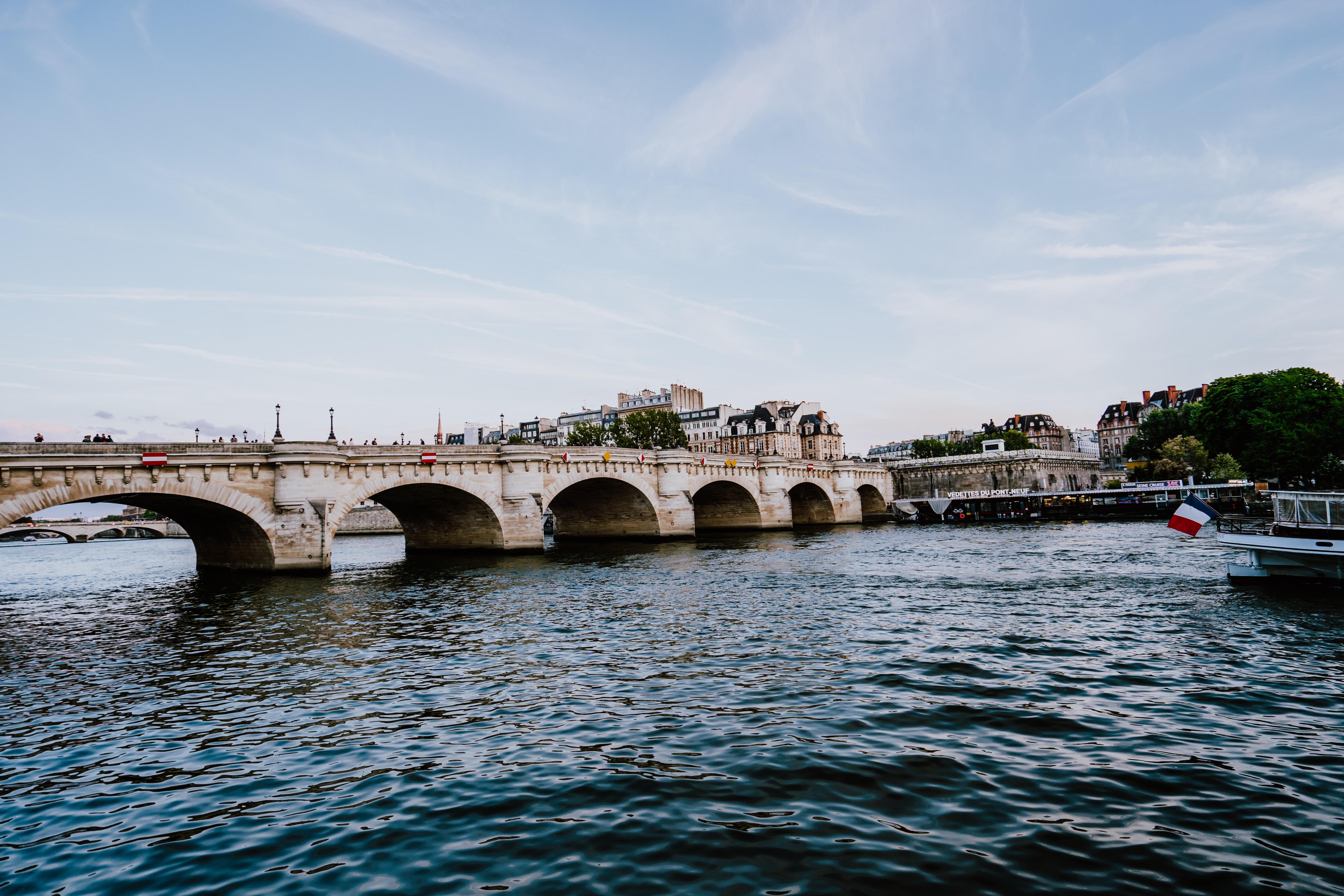 pont des arts, best parks in Paris