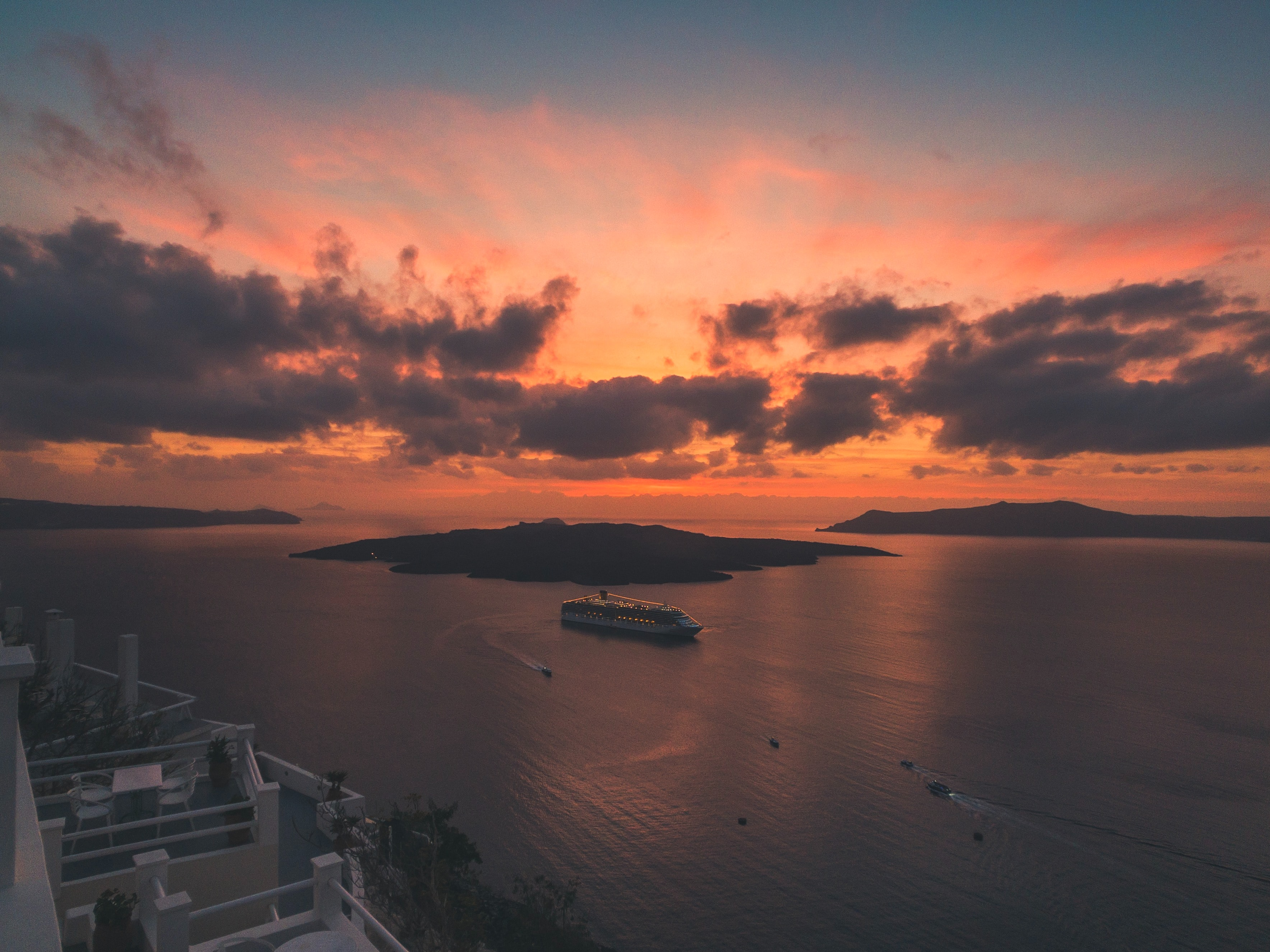 Best Place to watch sunset, Santorini