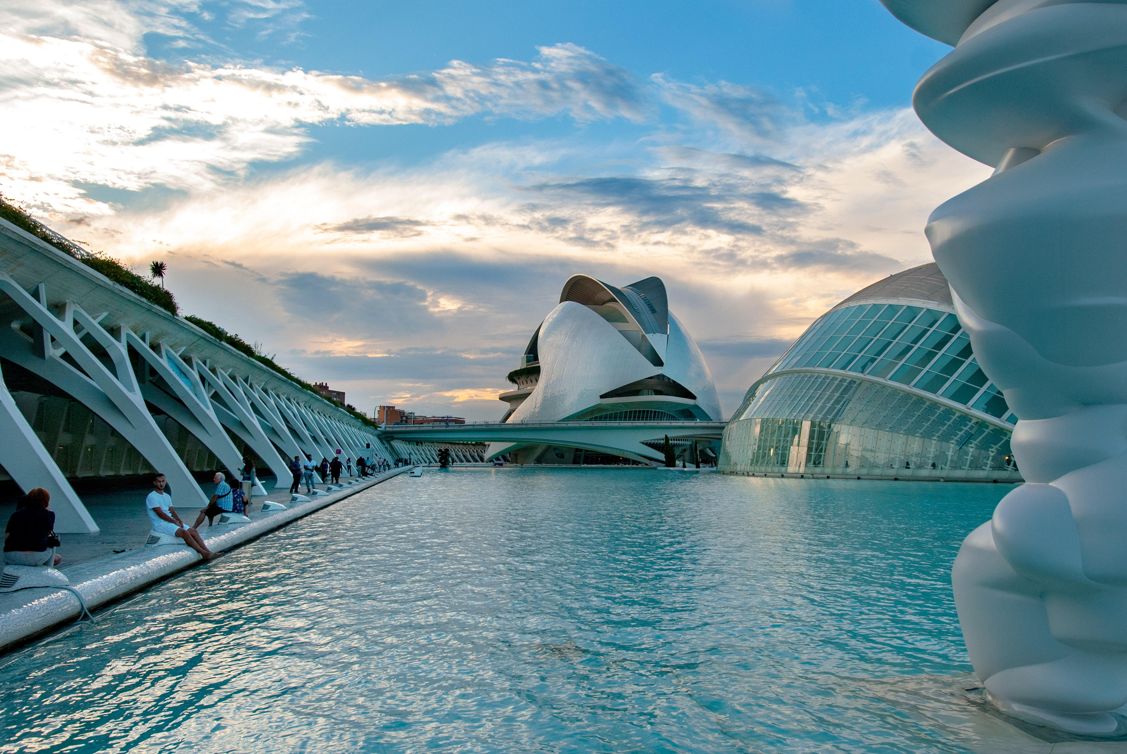 City of Arts and Science, Valencia, Spain, Art