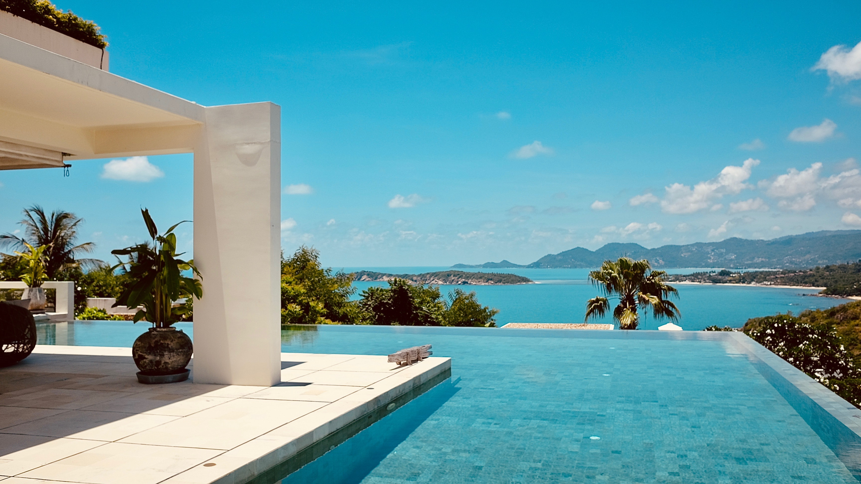 Villa pool, things to do for couple in Thailand